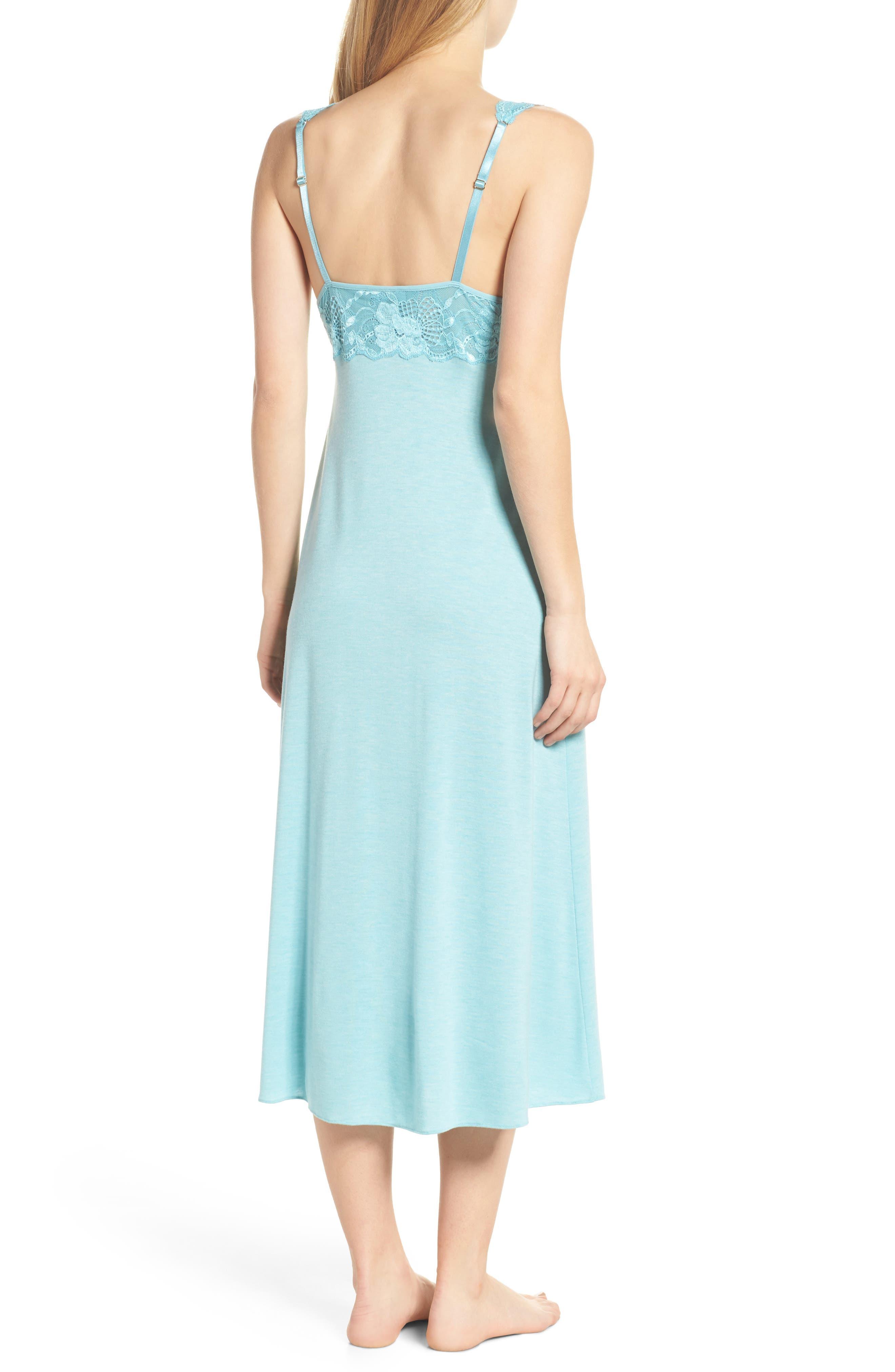 'Zen Floral' Nightgown,                             Alternate thumbnail 2, color,                             420
