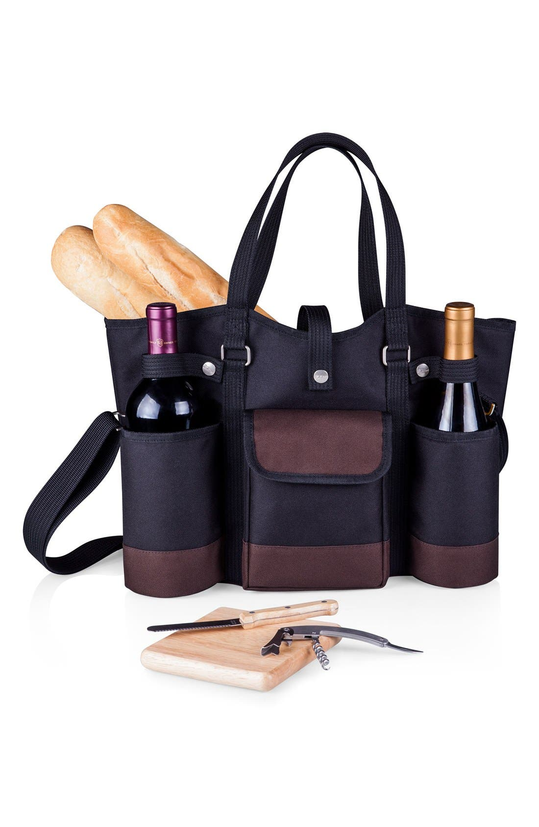 'Wine Country' Picnic Tote,                             Alternate thumbnail 2, color,