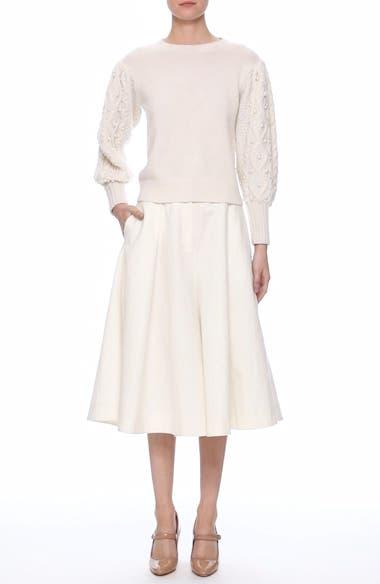 Linen & Cotton Crop Wide Leg Pants, video thumbnail