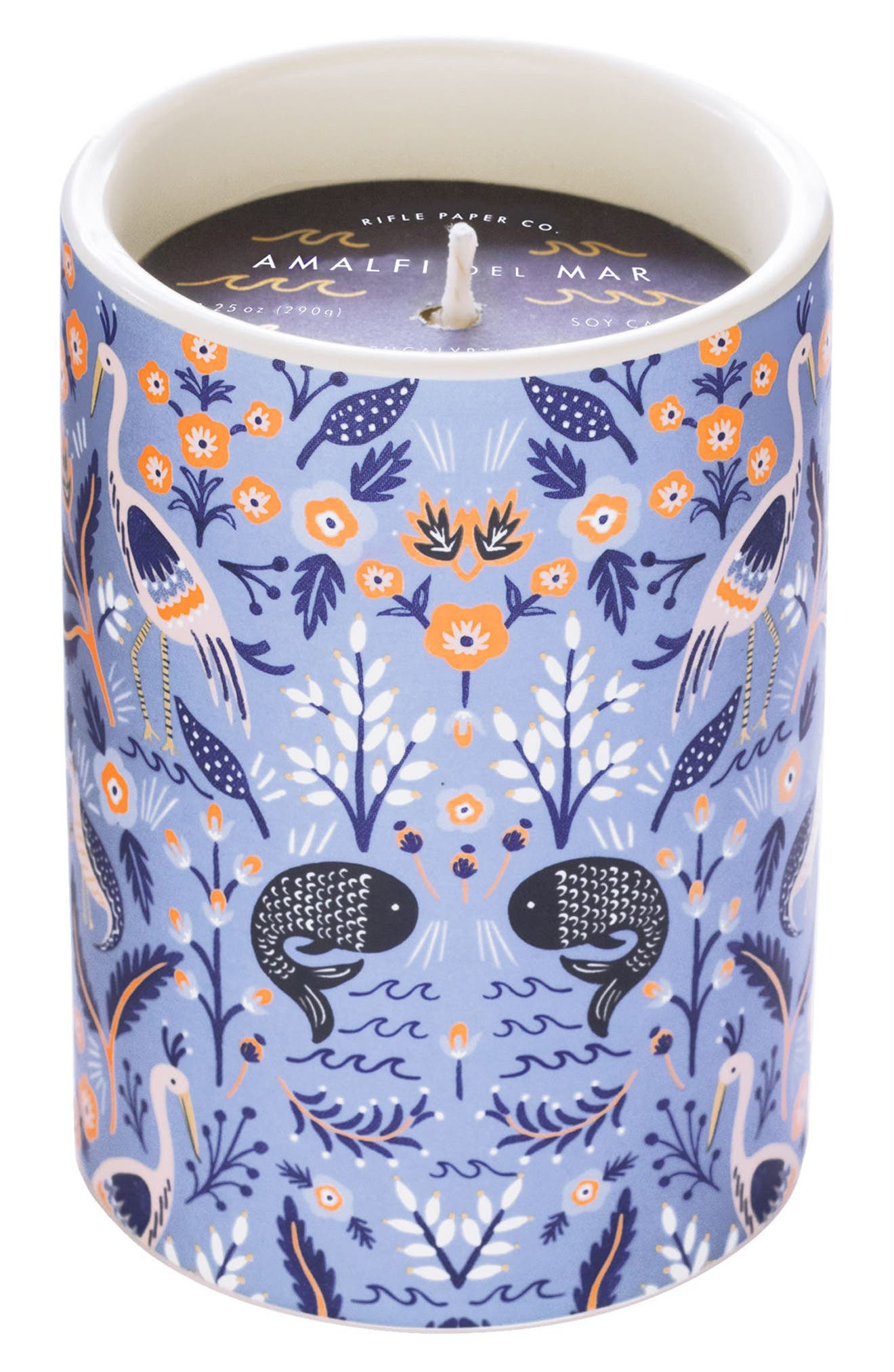 Scented Ceramic Jar Candle,                             Main thumbnail 2, color,