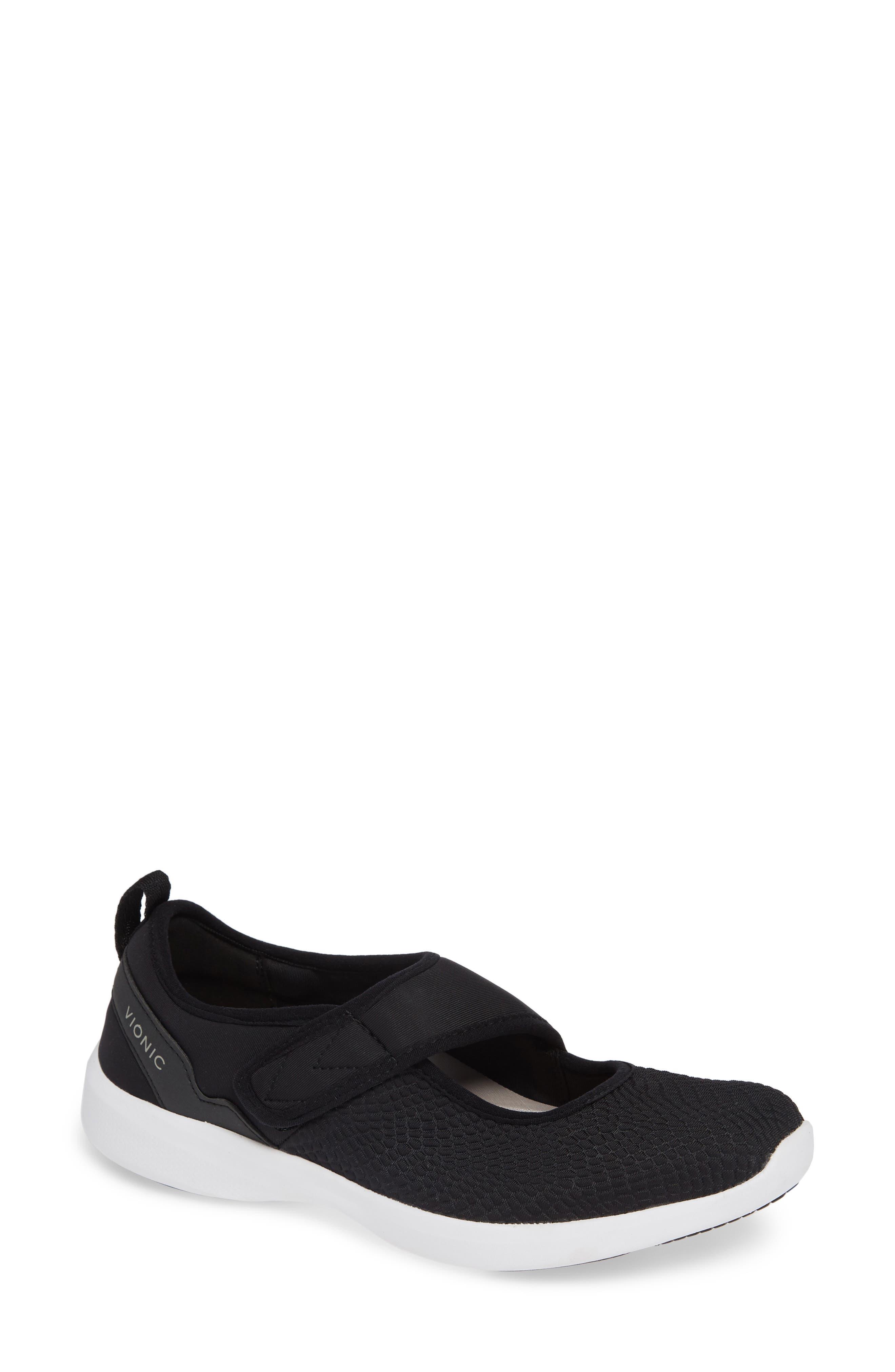 Sonnet Sneaker,                         Main,                         color, BLACK FABRIC