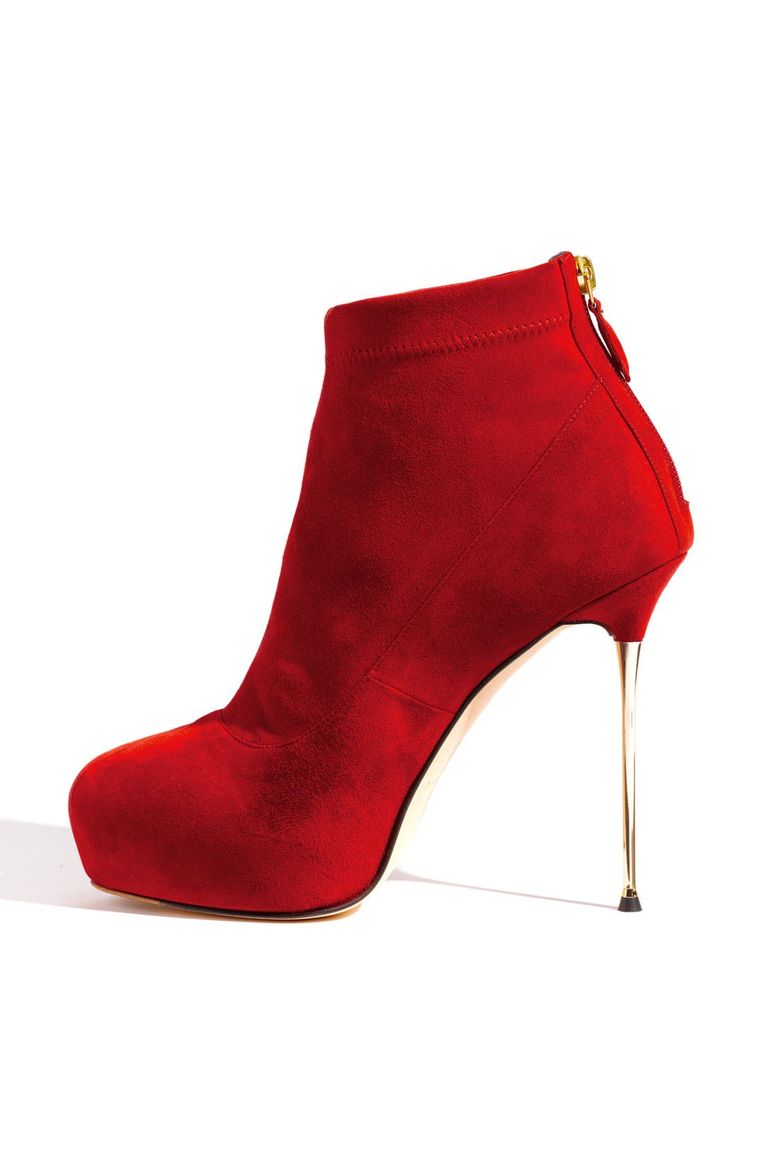 Metal Heel Platform Bootie,                             Alternate thumbnail 3, color,                             600
