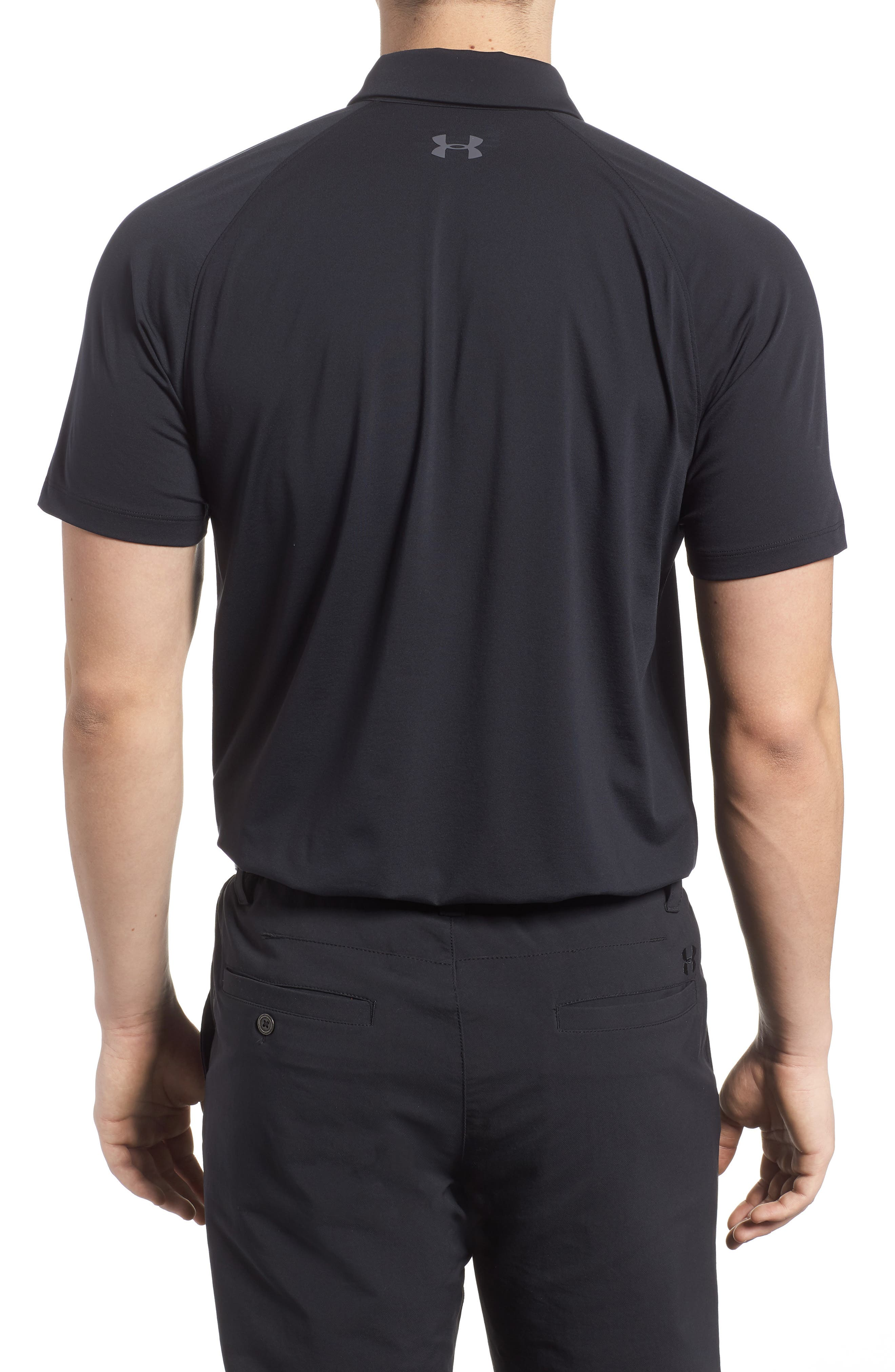 Threadborne Infinite Regular Fit Polo Shirt,                             Alternate thumbnail 2, color,                             001