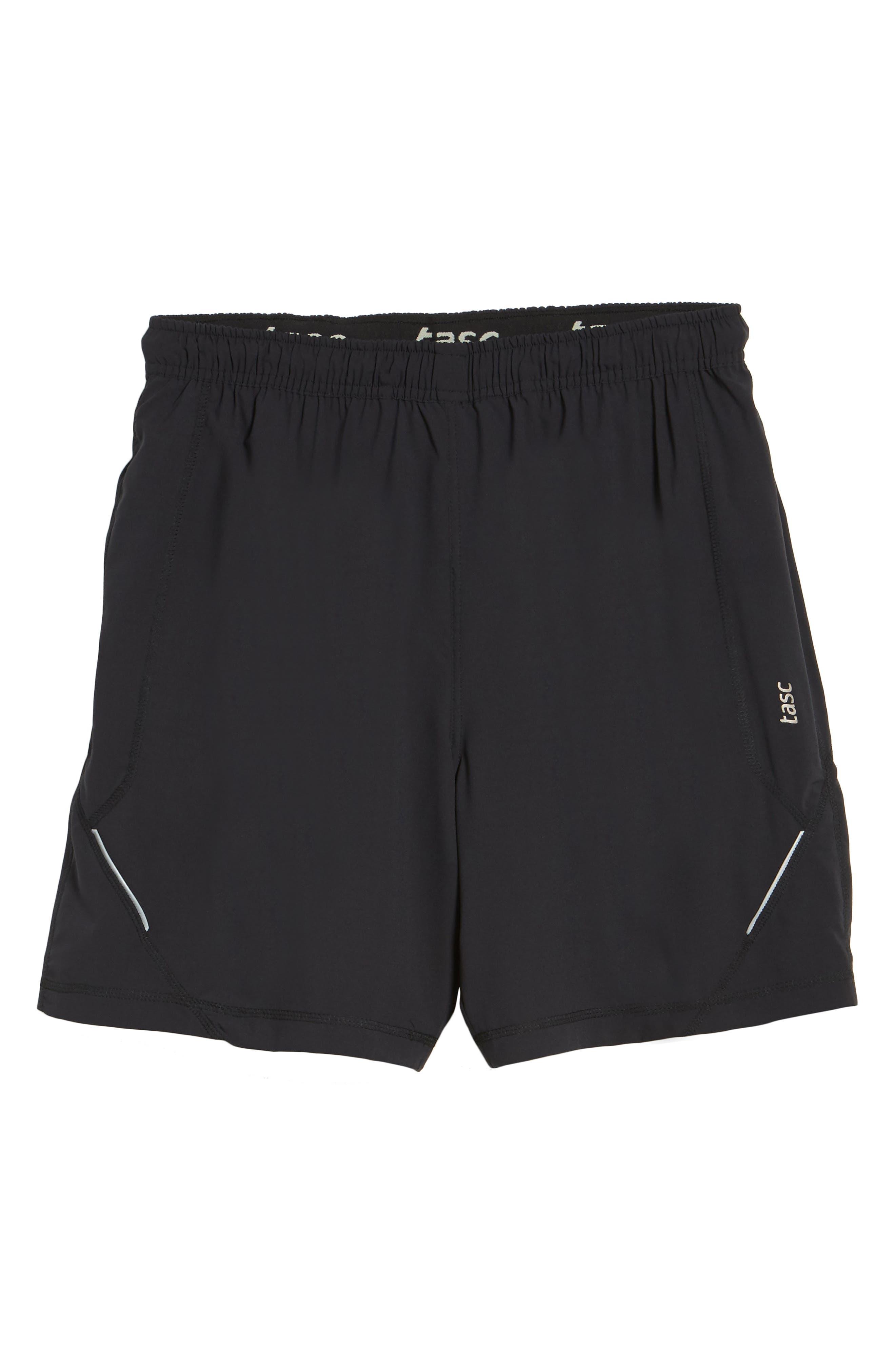 Propulsion Athletic Shorts,                             Alternate thumbnail 6, color,                             BLACK