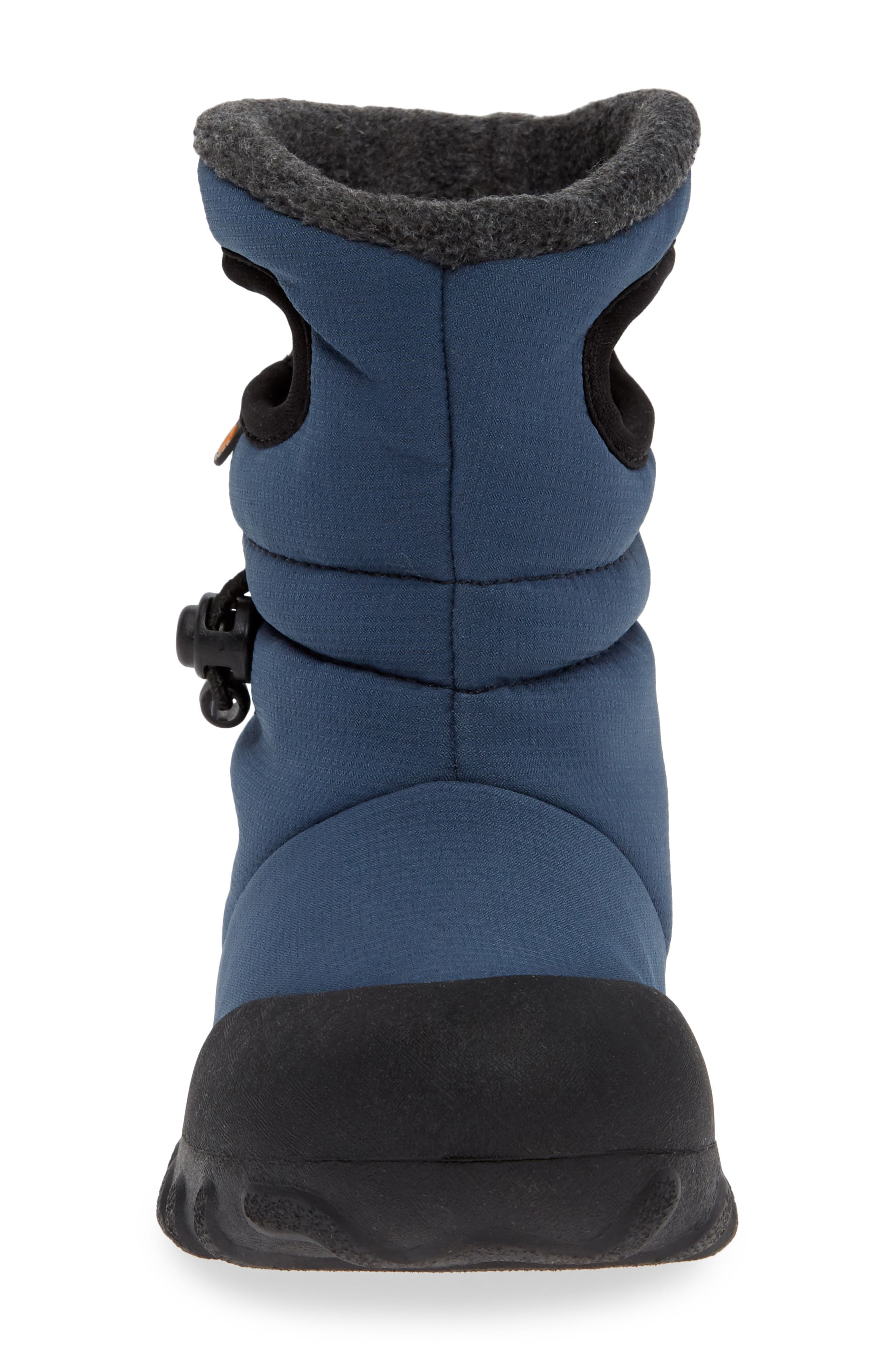 B-MOC Puff Waterproof Insulated Boot,                             Alternate thumbnail 4, color,                             NAVY