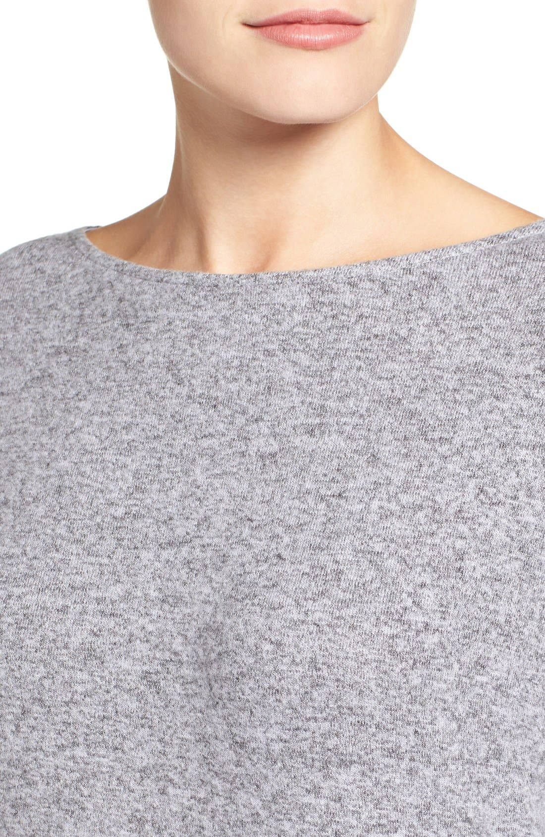 Cozy Ballet Neck High/Low Pullover,                             Alternate thumbnail 67, color,