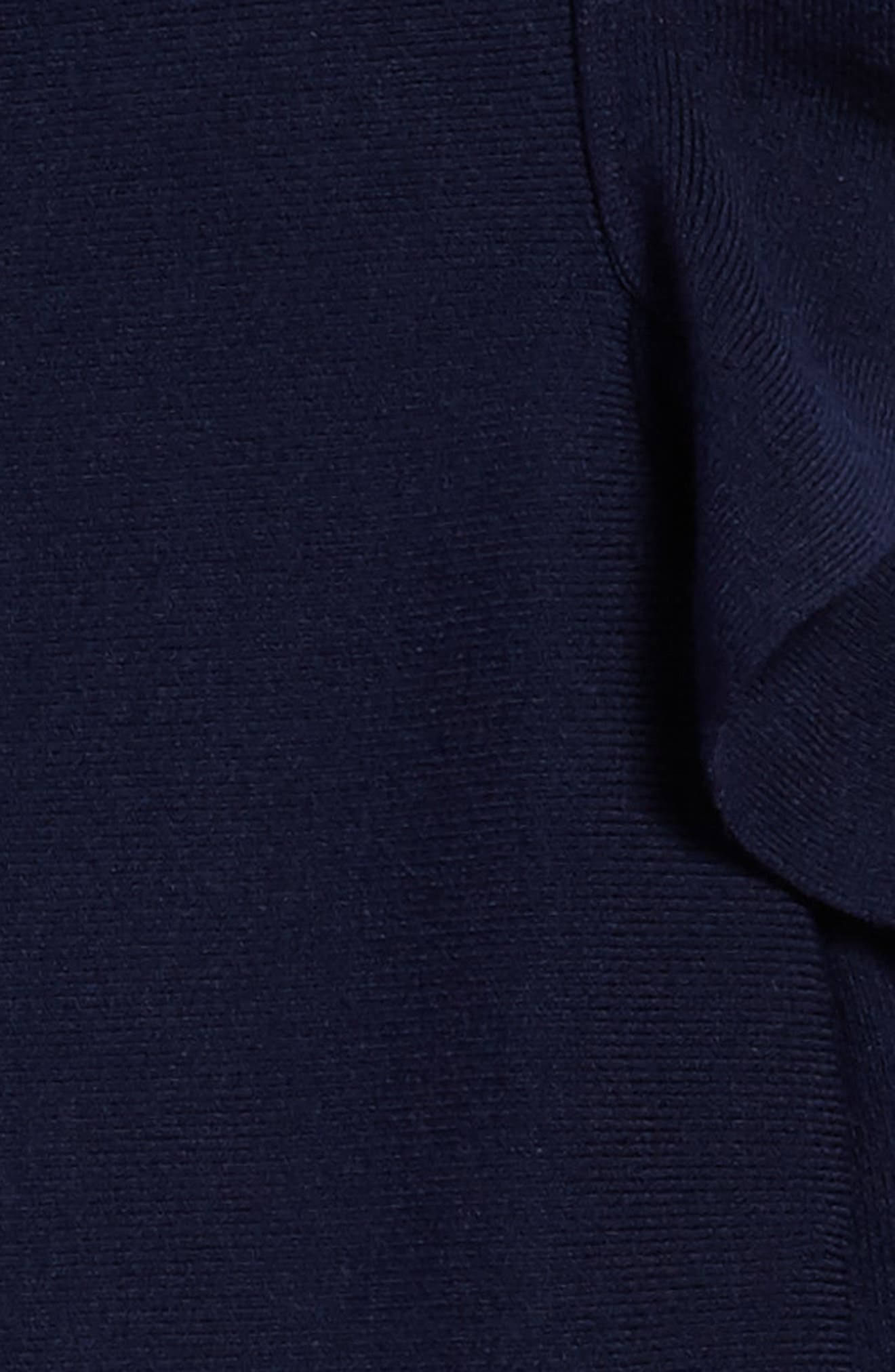 MILLY MINIS,                             Cold Shoulder Skater Dress,                             Alternate thumbnail 3, color,                             410