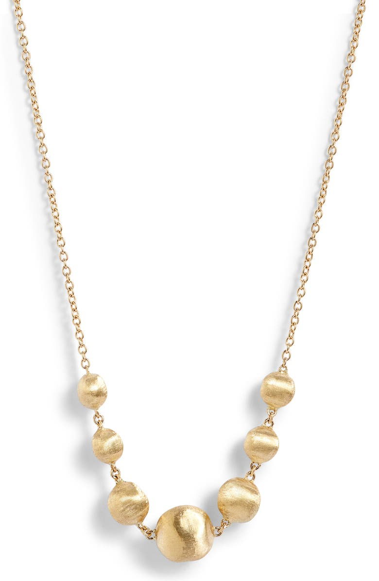 Marco Bicego AFRICA 18K GOLD FRONTAL NECKLACE