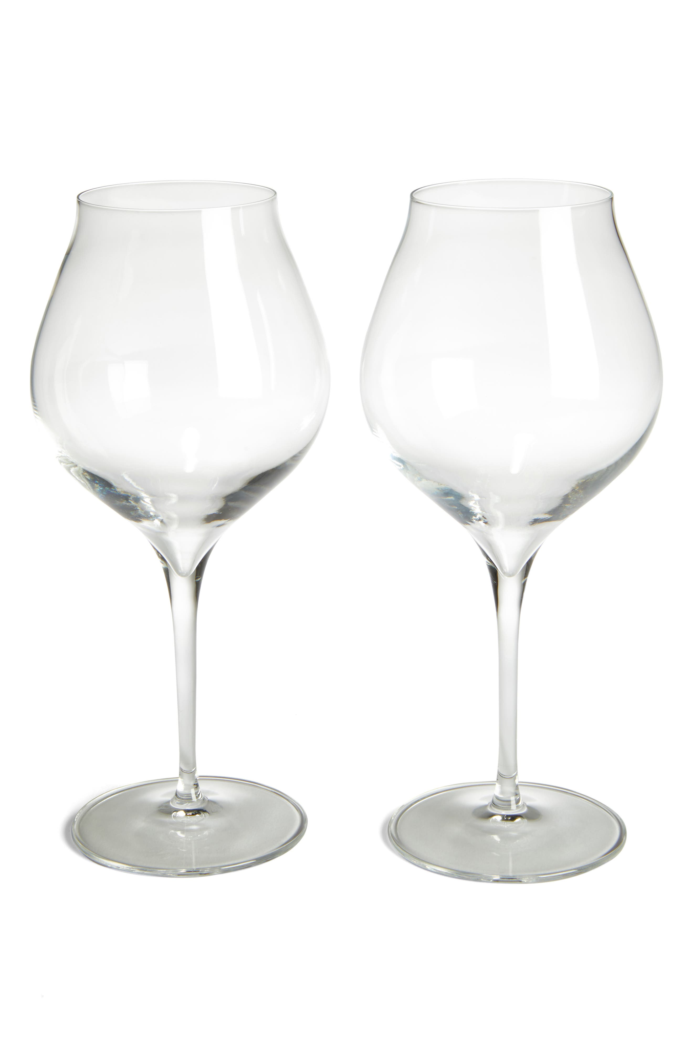 Luigi Bormiolo Vinea Corvina/Amarone Set of 2 Red Wine Glasses,                             Main thumbnail 1, color,                             100