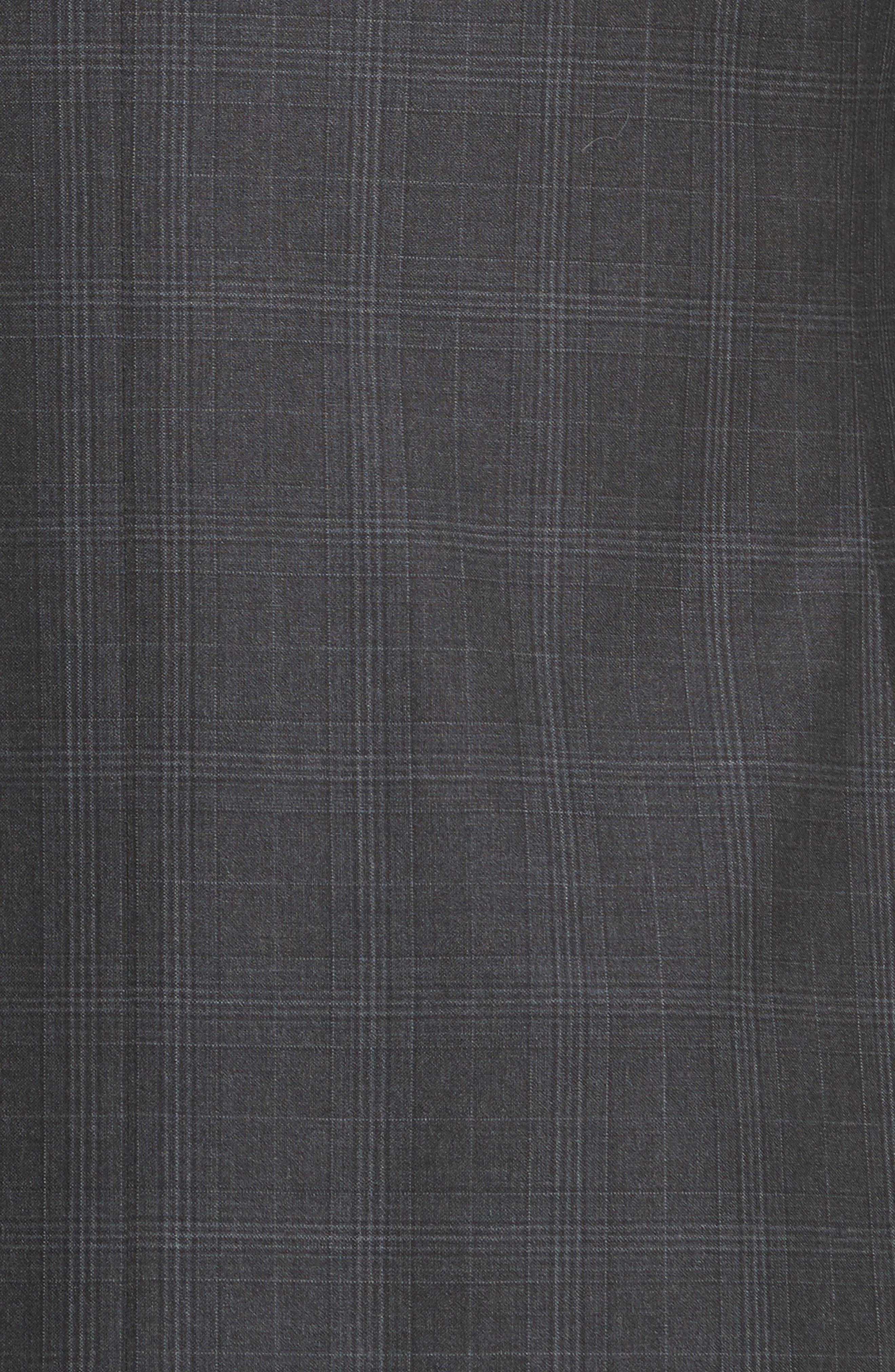 Classic Fit Plaid Wool Suit,                             Alternate thumbnail 7, color,                             023