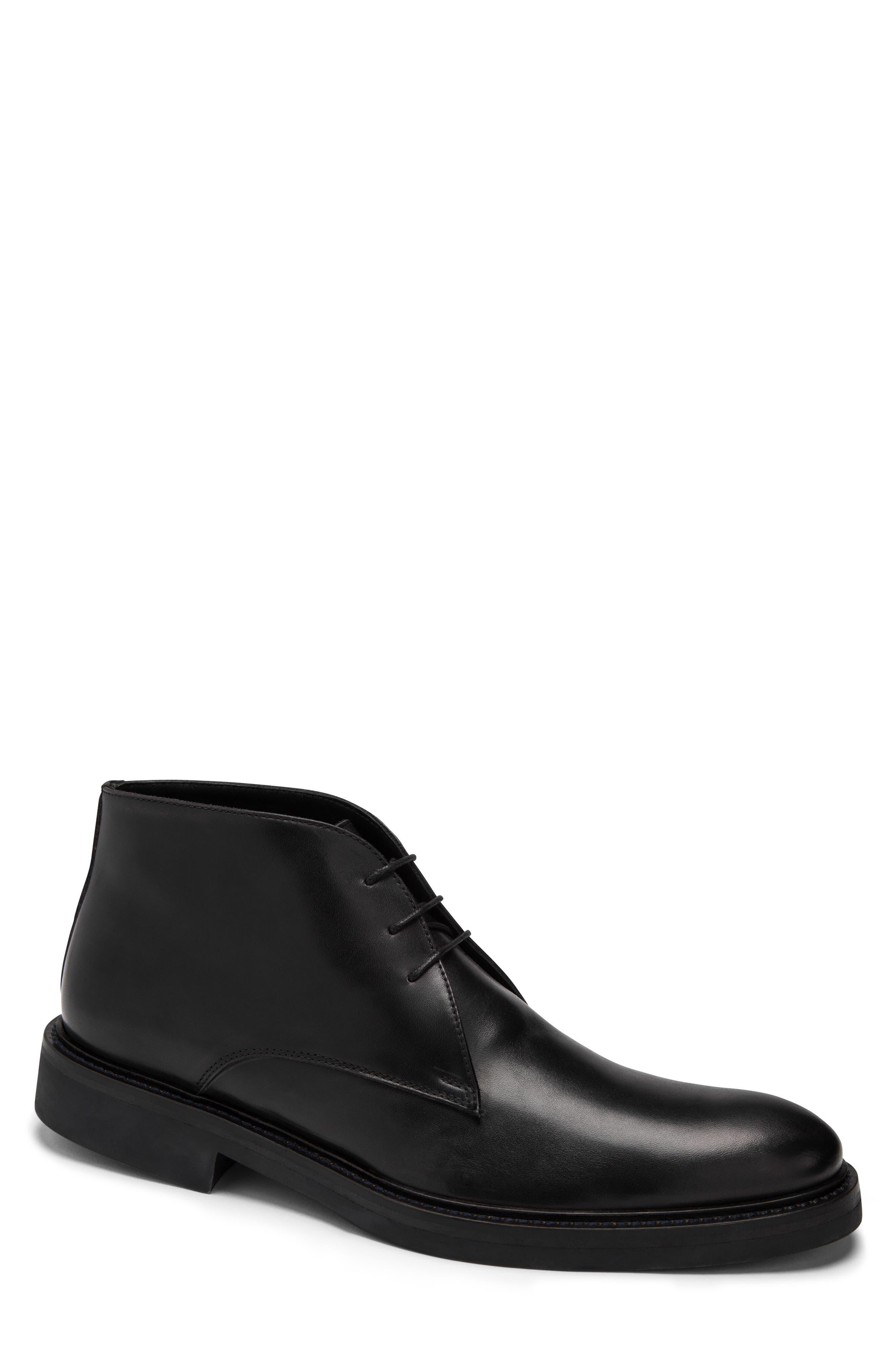 Bugatchi Milano Chukka Boot- Black