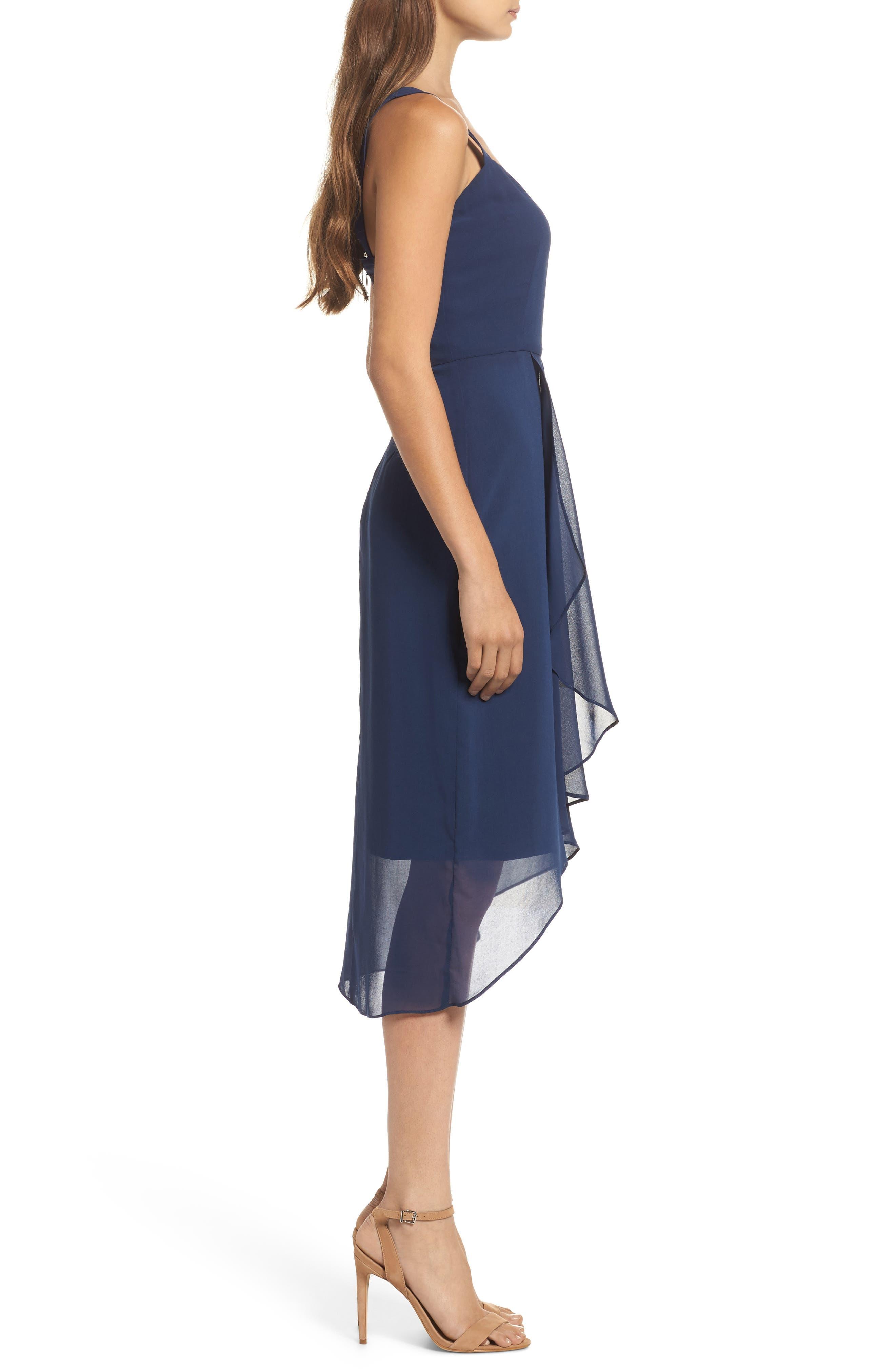 Utopia Midi Dress,                             Alternate thumbnail 3, color,                             435