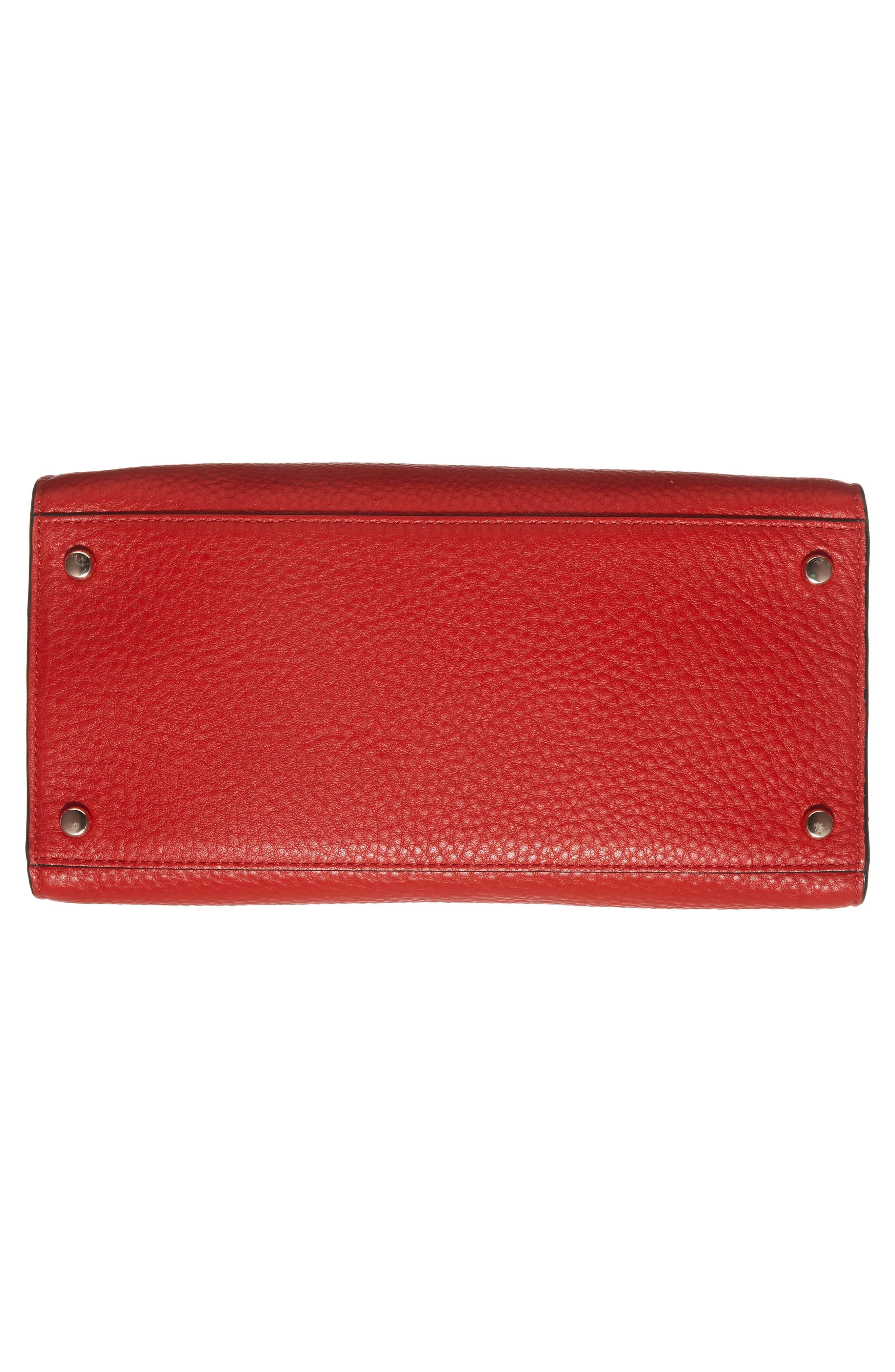 stewart street - little joy leather satchel,                             Alternate thumbnail 5, color,                             631