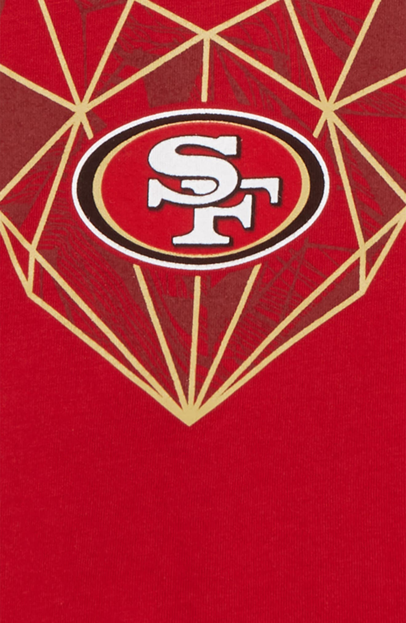 NFL San Francisco 49ers Legend T-Shirt,                             Alternate thumbnail 2, color,                             RED