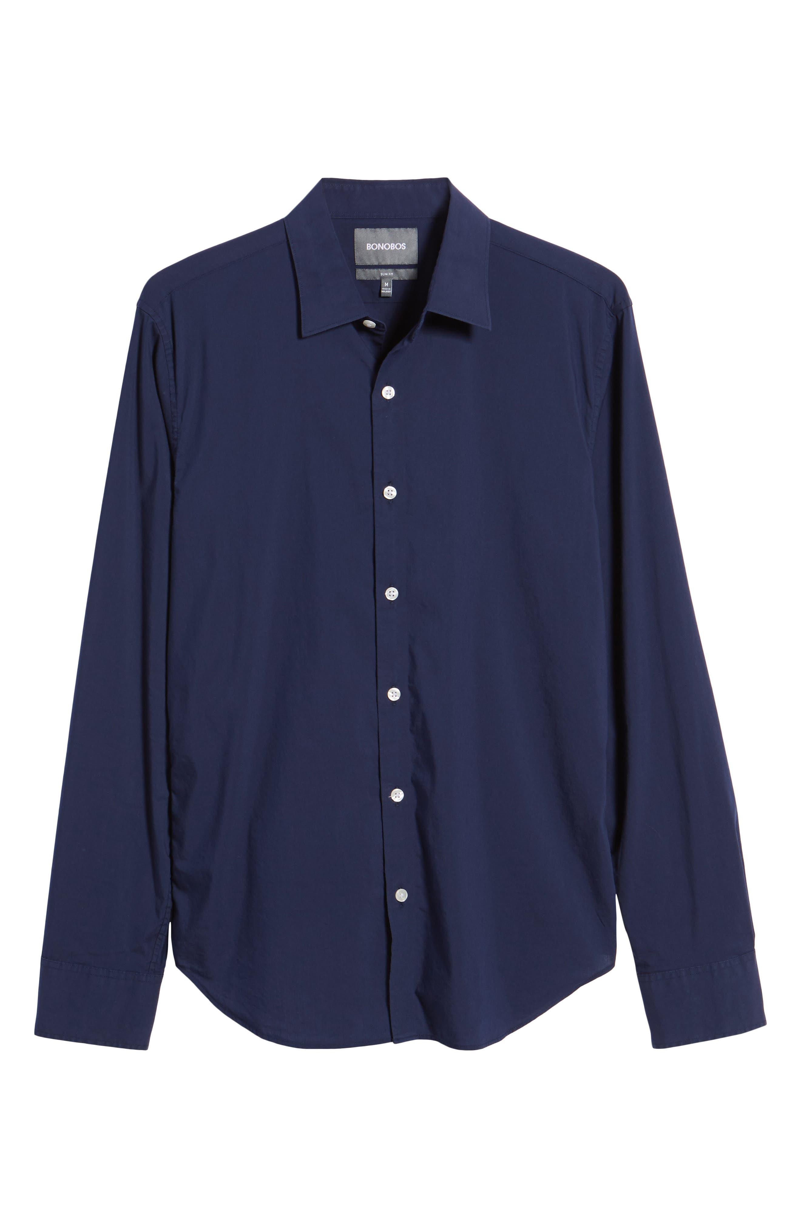 Unbutton Down 2.0 Slim Fit Sport Shirt,                             Alternate thumbnail 24, color,