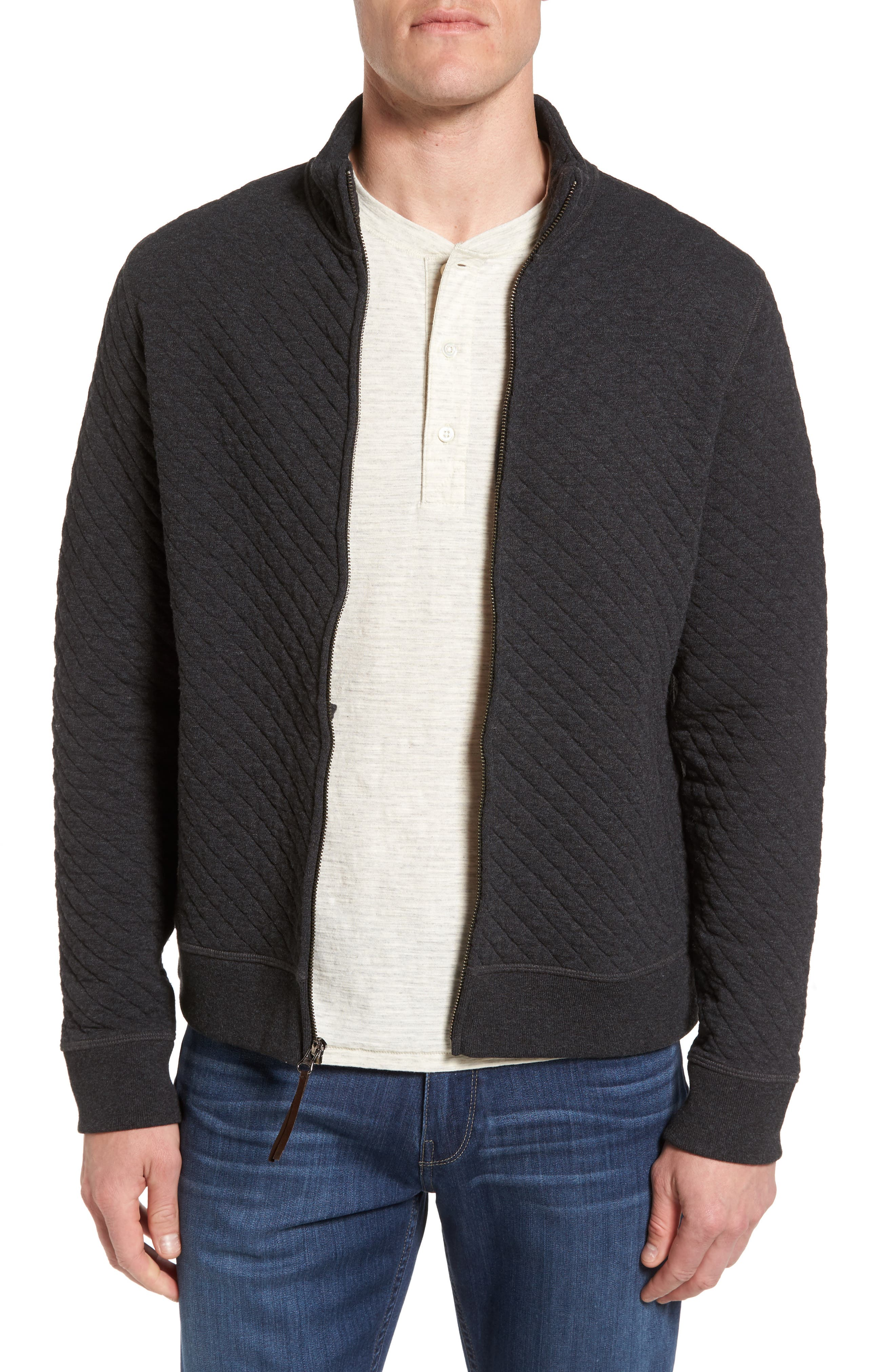 Diamond Quilted Jacket,                             Main thumbnail 1, color,                             020