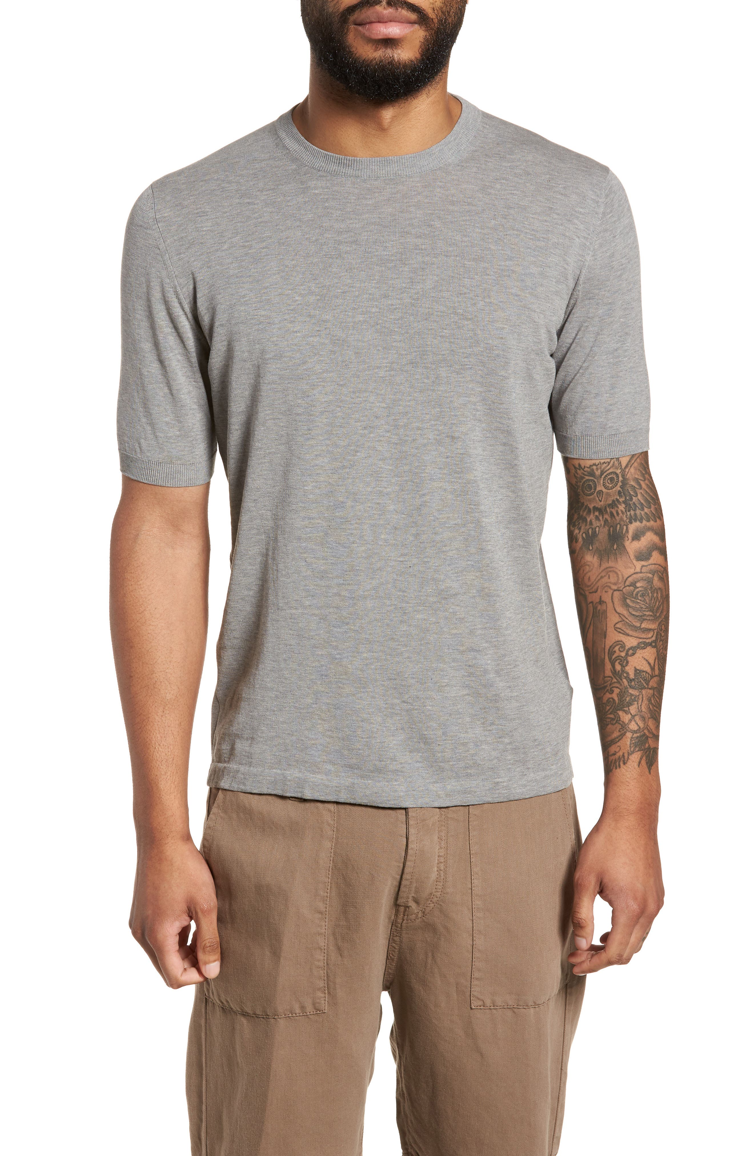 Fresco Crewneck Cotton T-Shirt,                         Main,                         color, 021