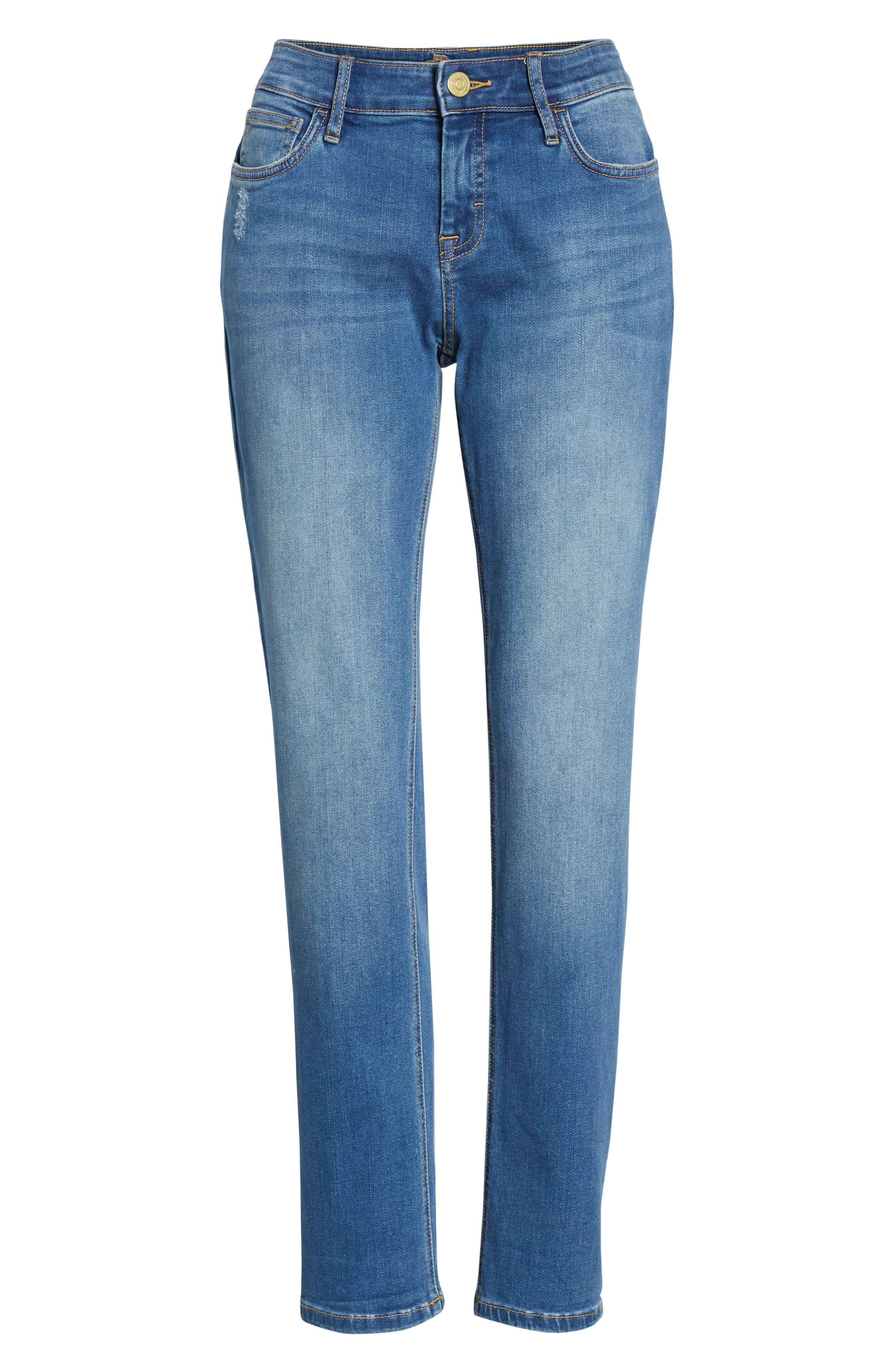 Tema Slim Boyfriend Jeans,                             Alternate thumbnail 7, color,                             407