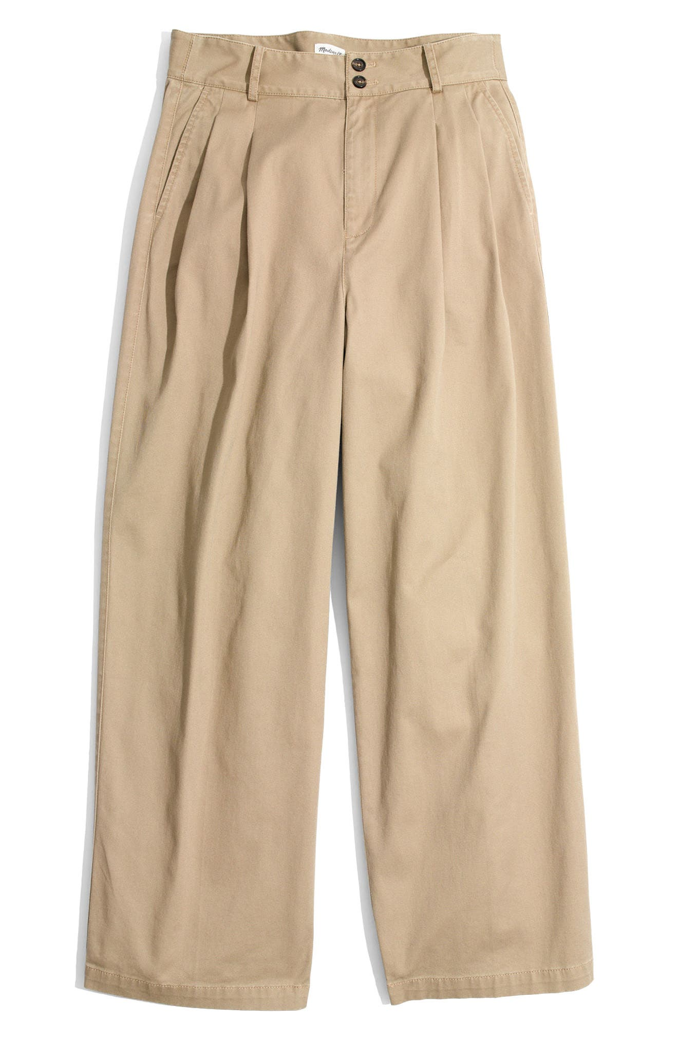 High Waist Crop Wide Leg Pants,                             Alternate thumbnail 4, color,                             250