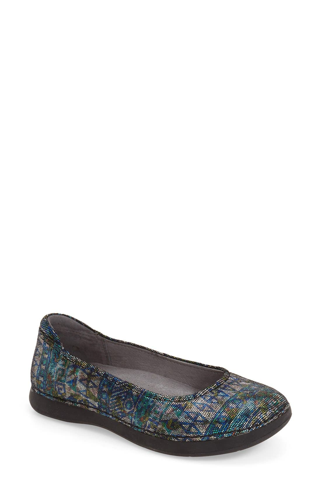 Petal Ballet Flat,                             Main thumbnail 7, color,