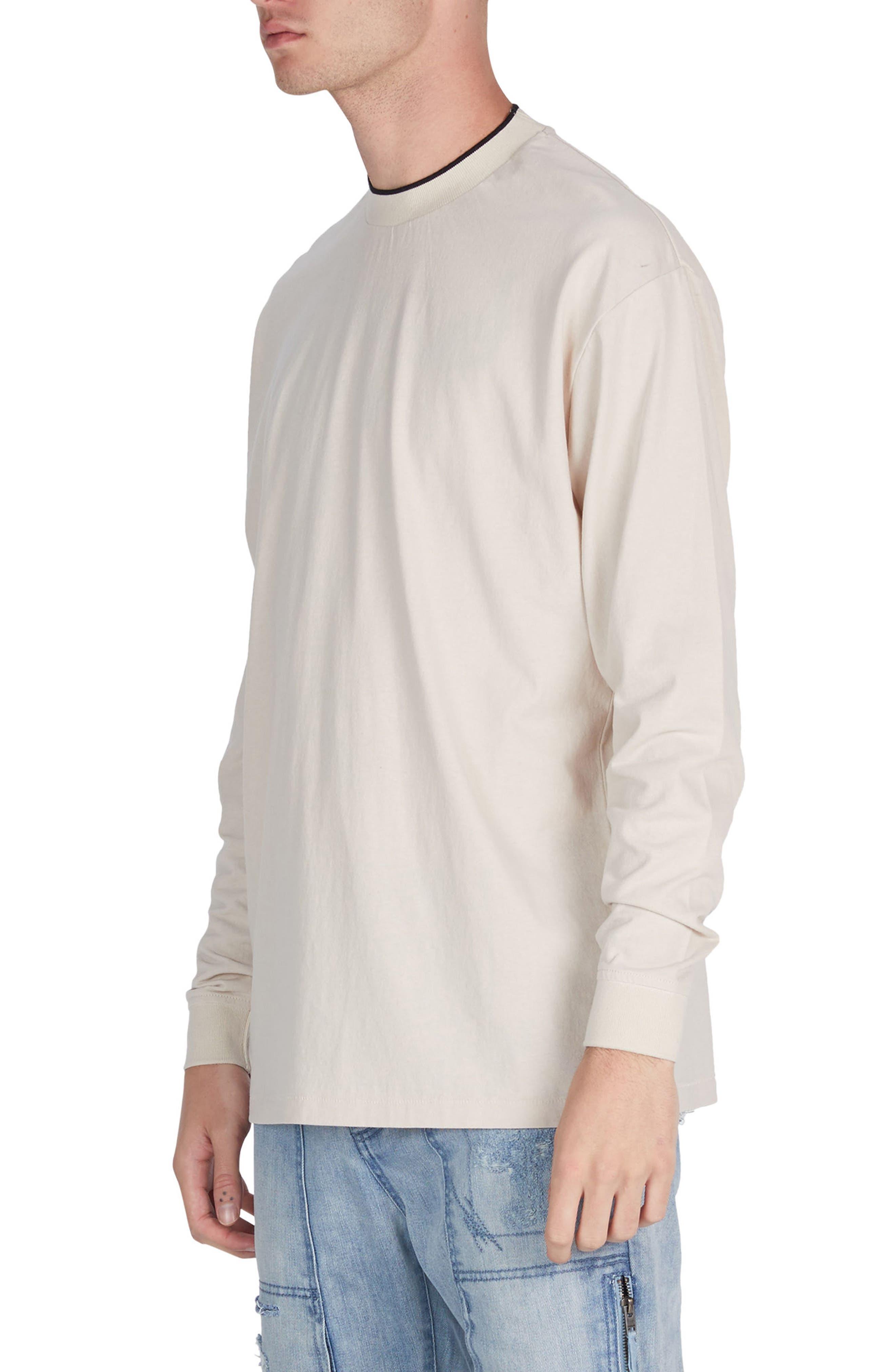 Tipped Boxy T-Shirt,                             Alternate thumbnail 4, color,                             251