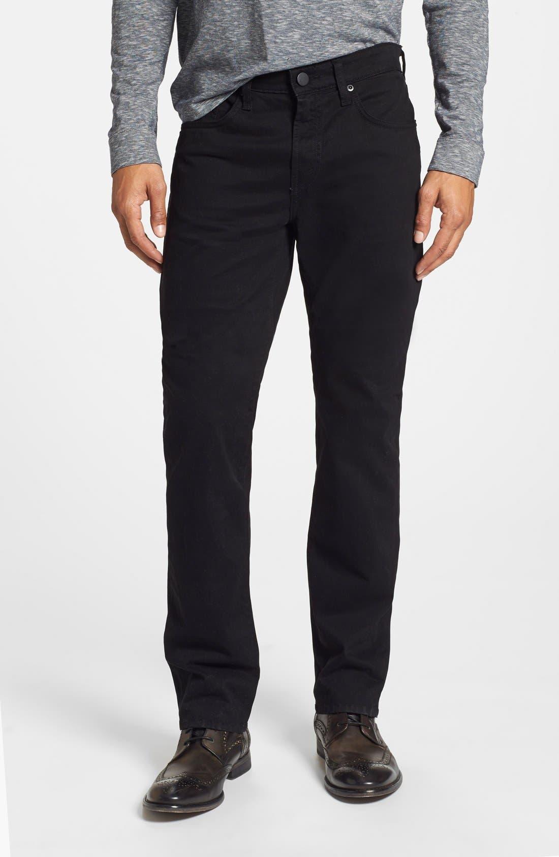 'Kane' Slim Fit Cotton Twill Pants,                             Main thumbnail 4, color,
