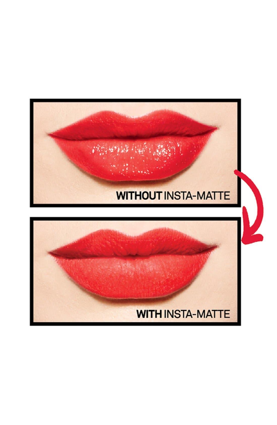 Insta-Matte Lipstick Transformer,                             Alternate thumbnail 3, color,                             000
