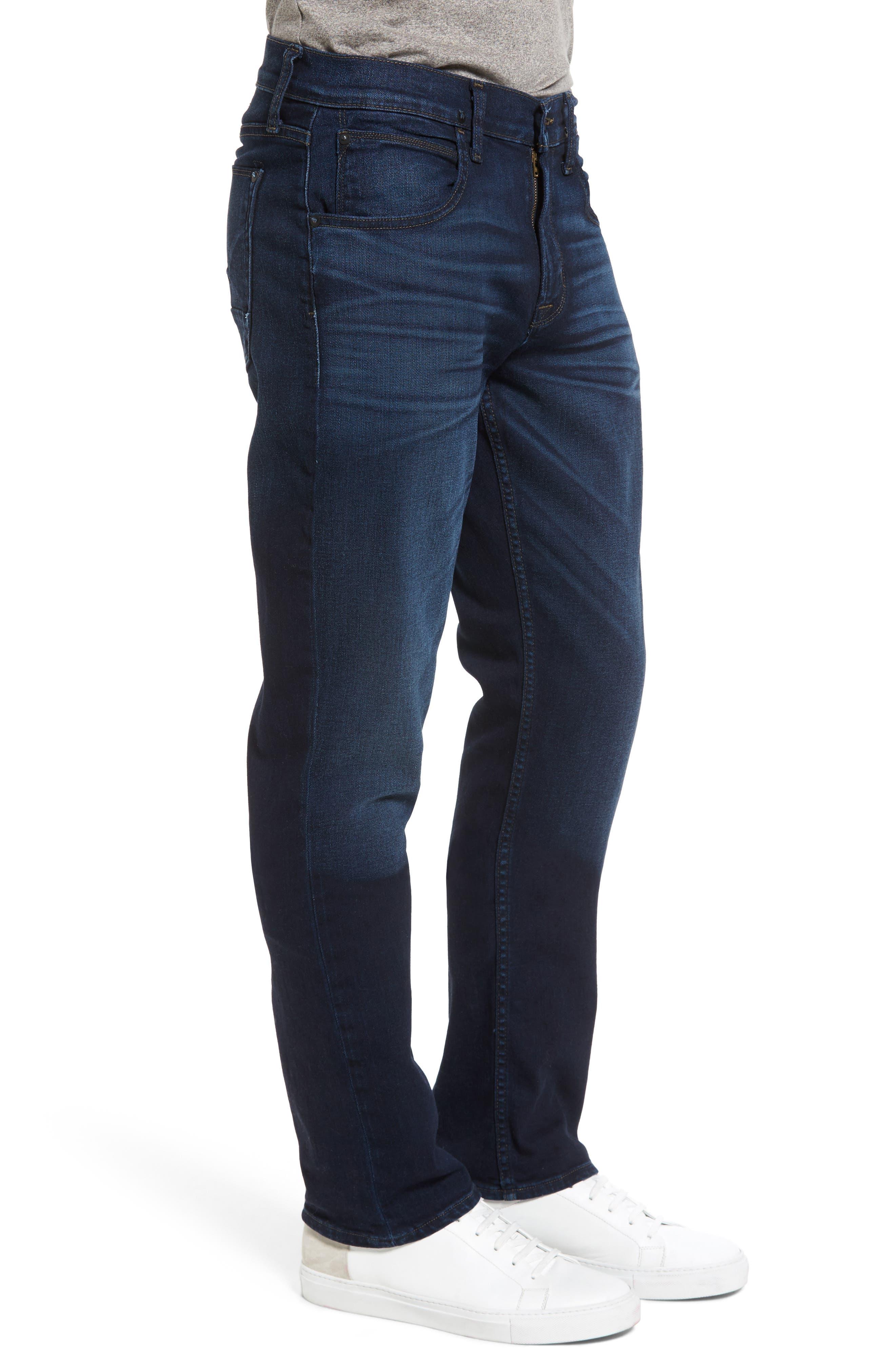 Byron Slim Straight Leg Jeans,                             Alternate thumbnail 3, color,                             401