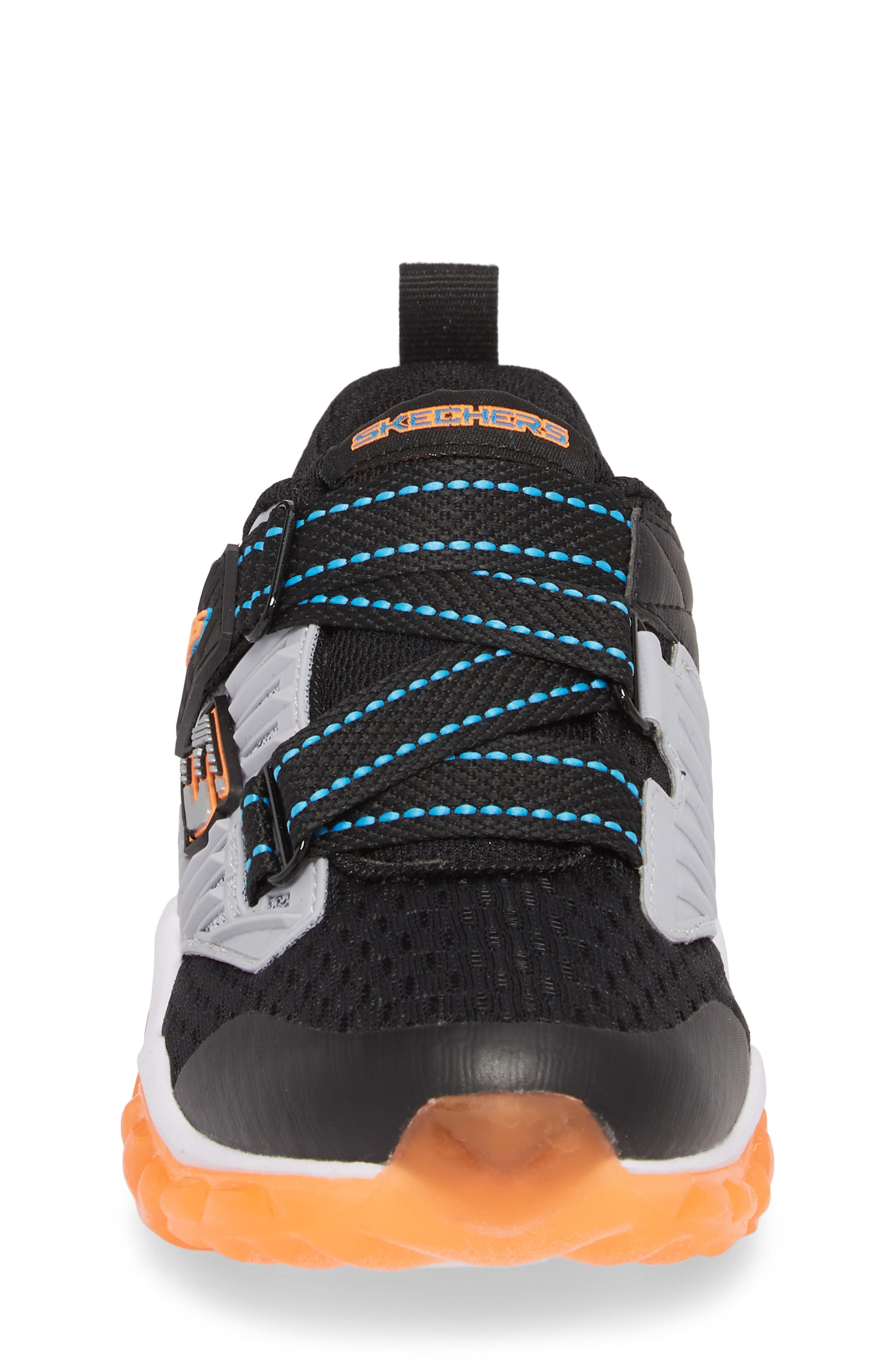 Rapid Flash Light-Up Sneaker,                             Alternate thumbnail 4, color,                             001