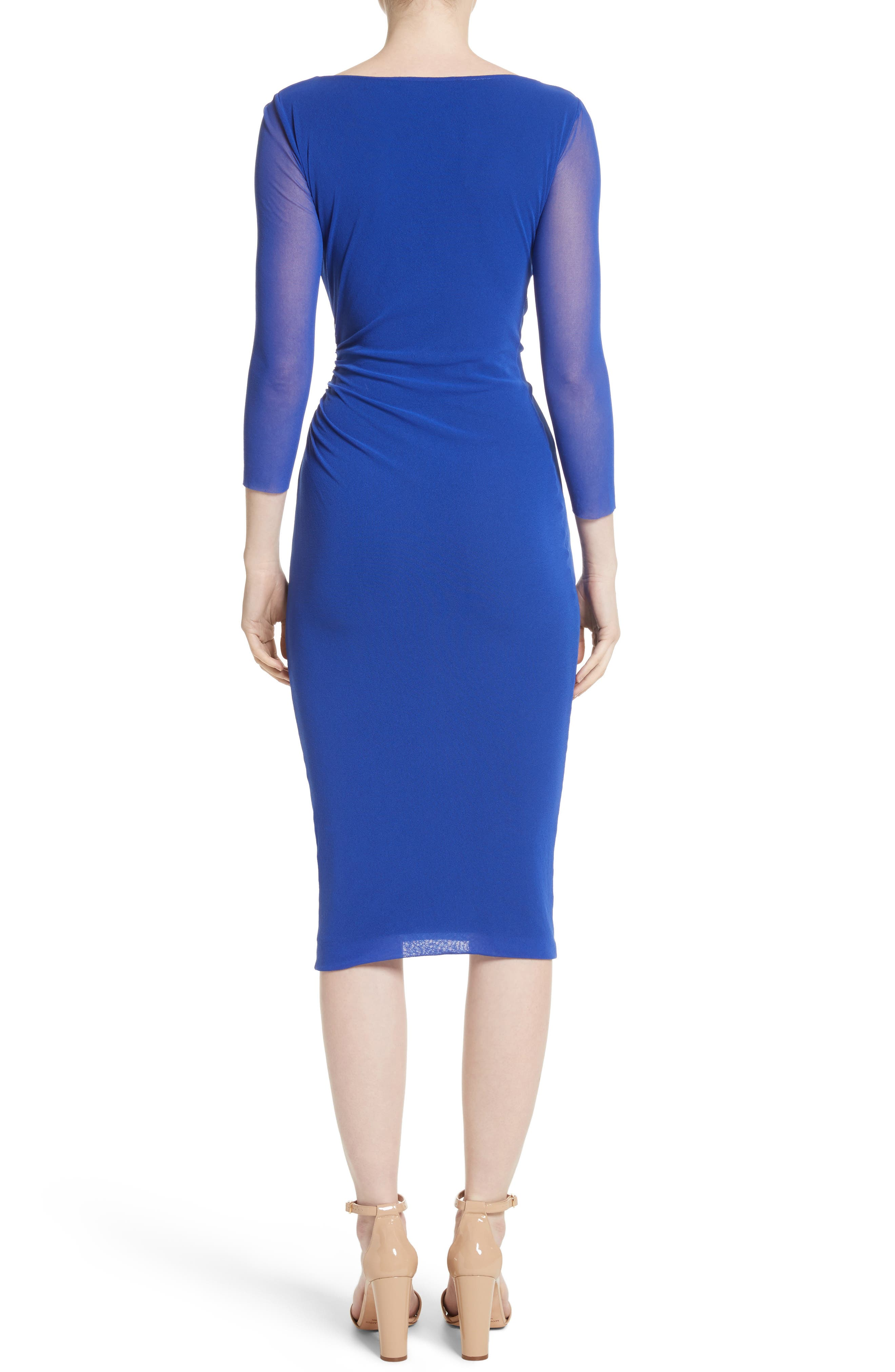 Ruched Tulle Dress,                             Alternate thumbnail 2, color,                             433