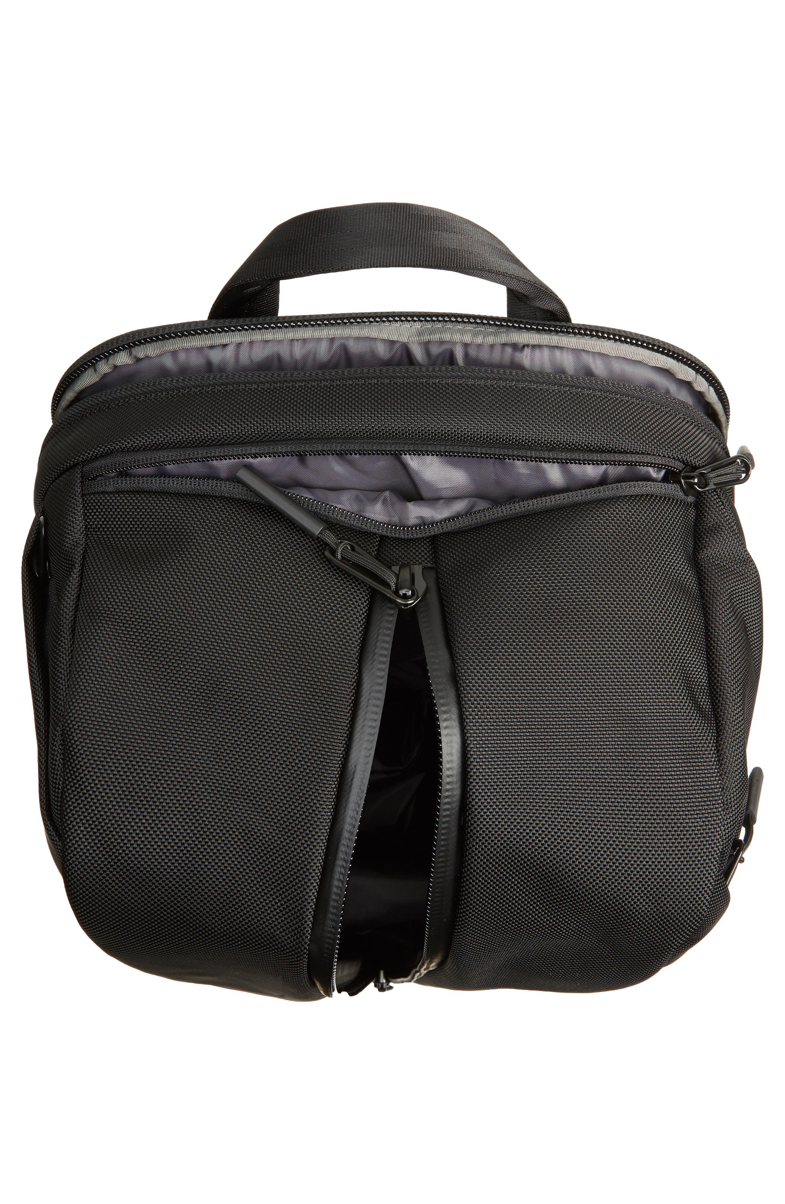 Duffel Pack 2 Convertible Backpack,                             Alternate thumbnail 4, color,                             BLACK