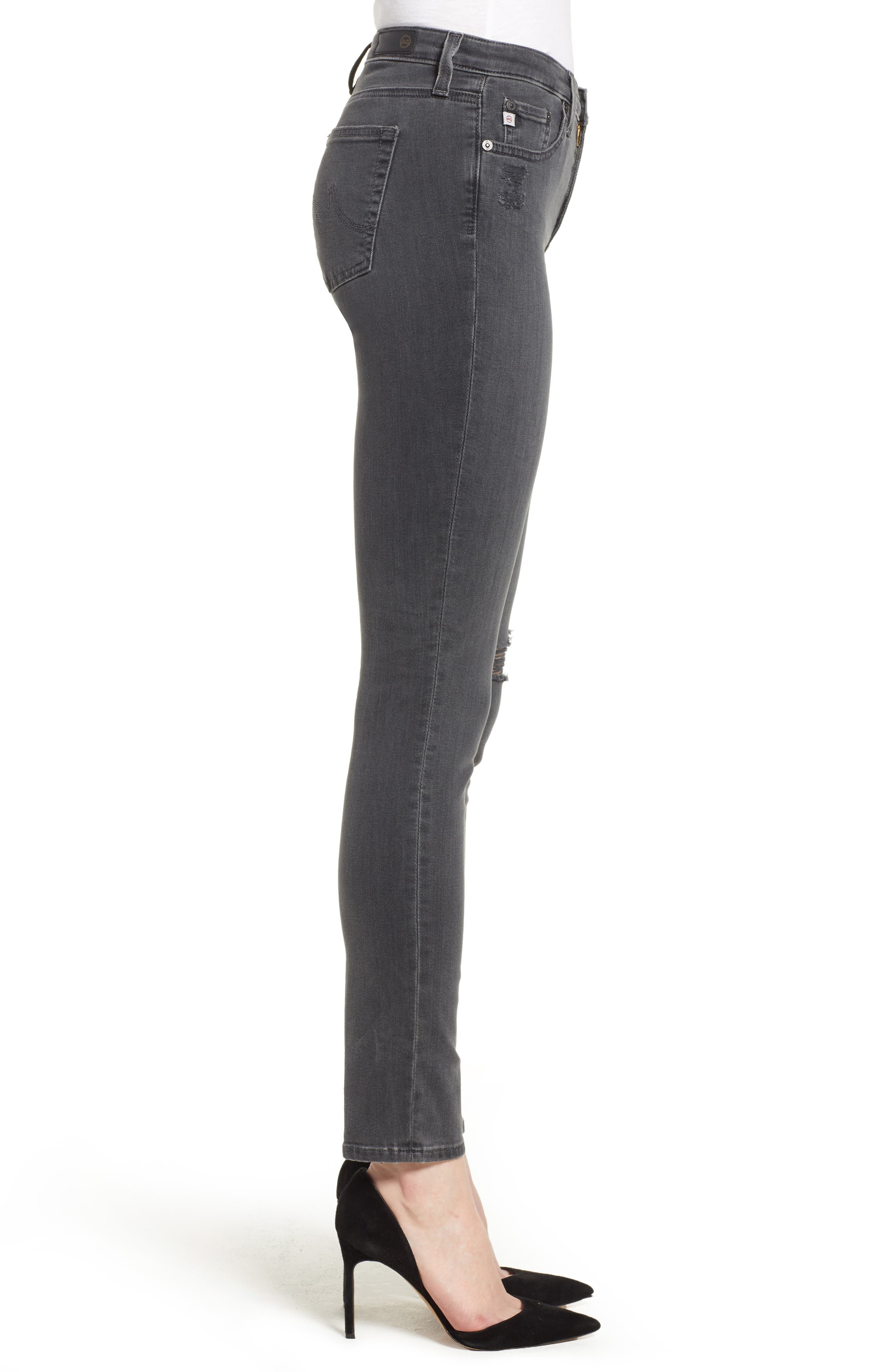 'The Legging' Ankle Super Skinny Jeans,                             Alternate thumbnail 11, color,