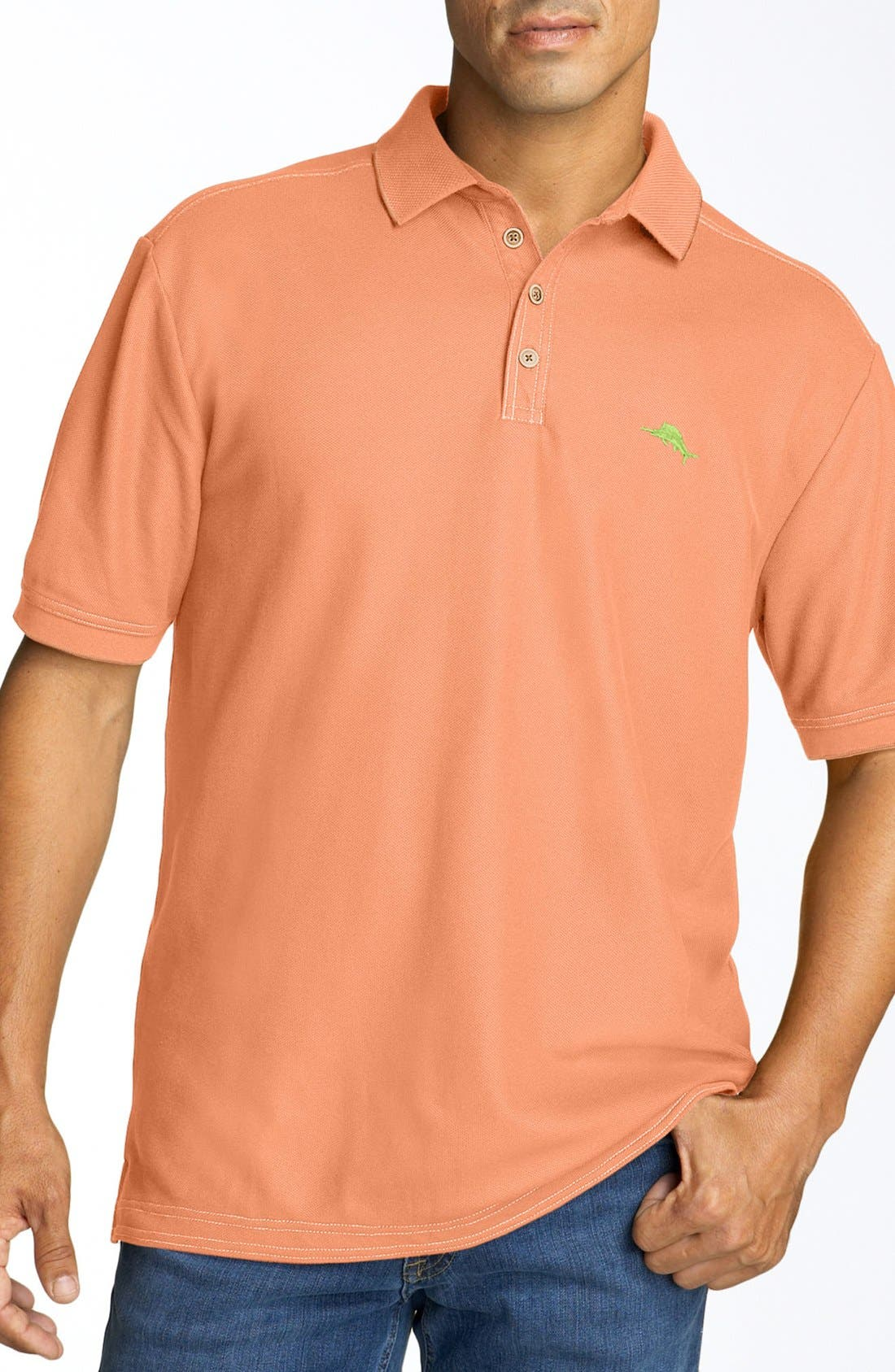 'The Emfielder' Original Fit Piqué Polo,                             Main thumbnail 116, color,