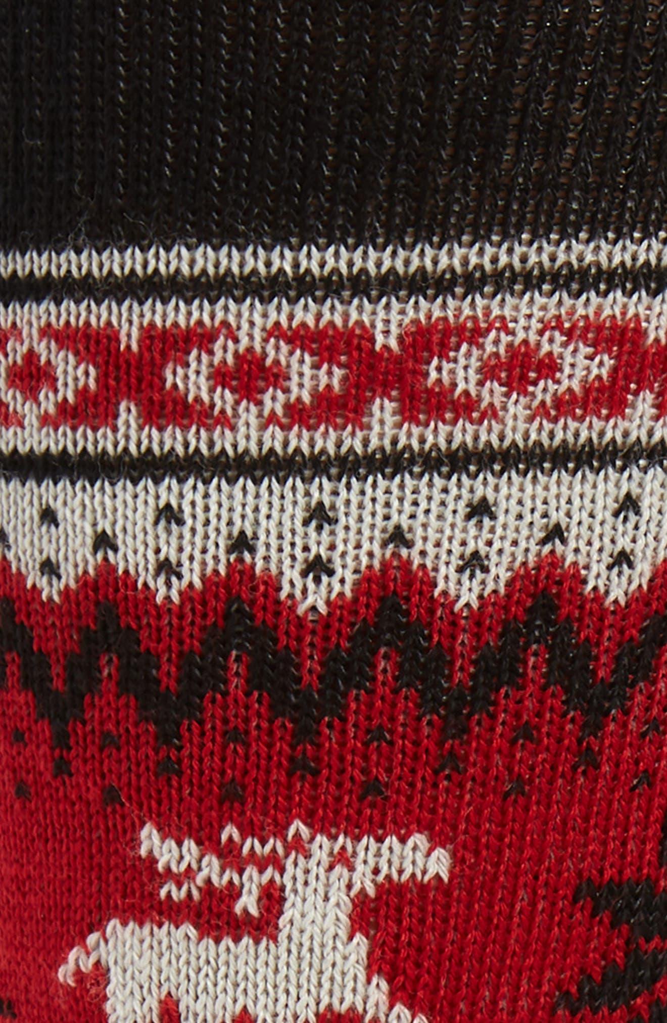 x CHUP 2-Pack Socks,                             Alternate thumbnail 2, color,                             BLACK/ TIBETAN RED