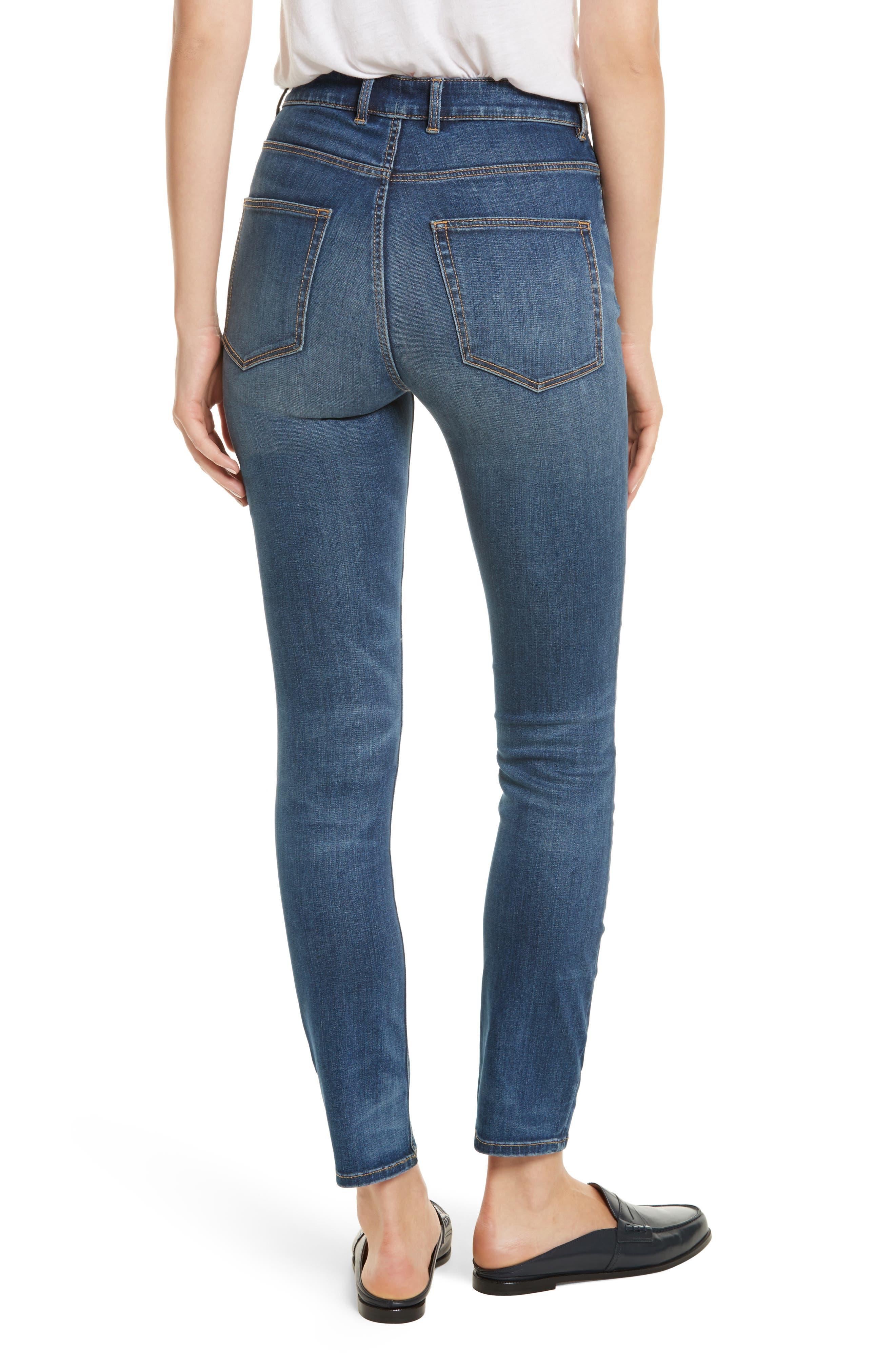 Clemence Skinny Jeans,                             Alternate thumbnail 2, color,                             401