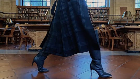 A tall tale: women's boots.