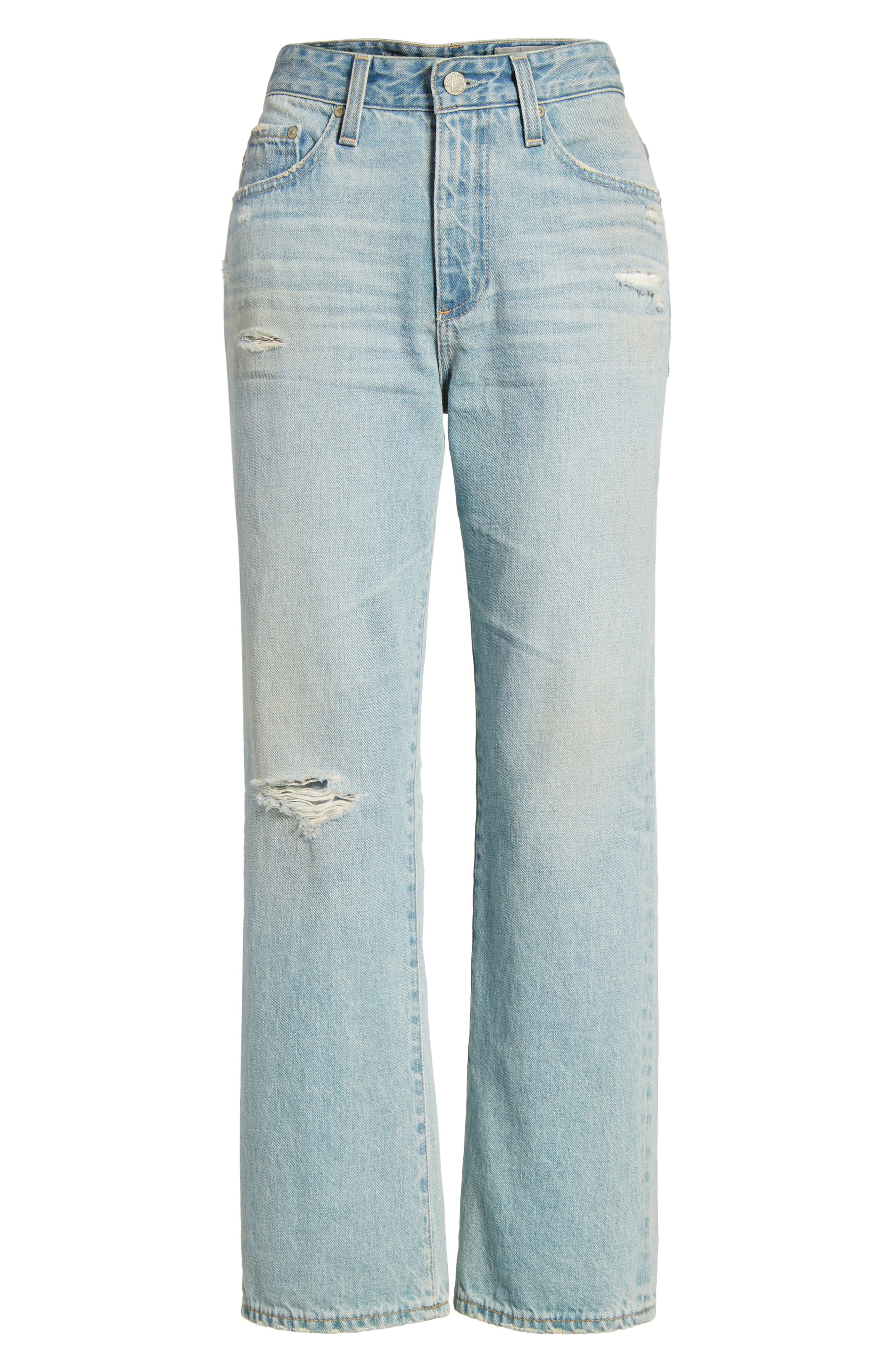 The Rhett Vintage High Waist Crop Jeans,                             Alternate thumbnail 18, color,