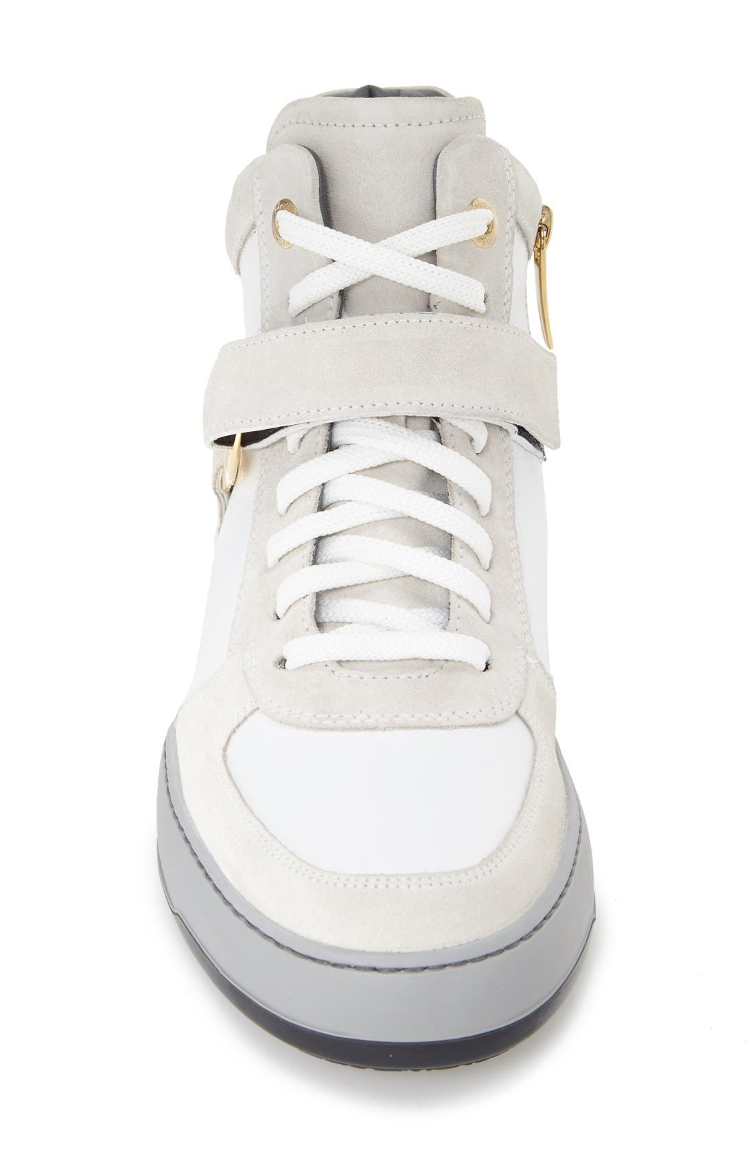 'Nayon' High Top Sneaker,                             Alternate thumbnail 3, color,                             286