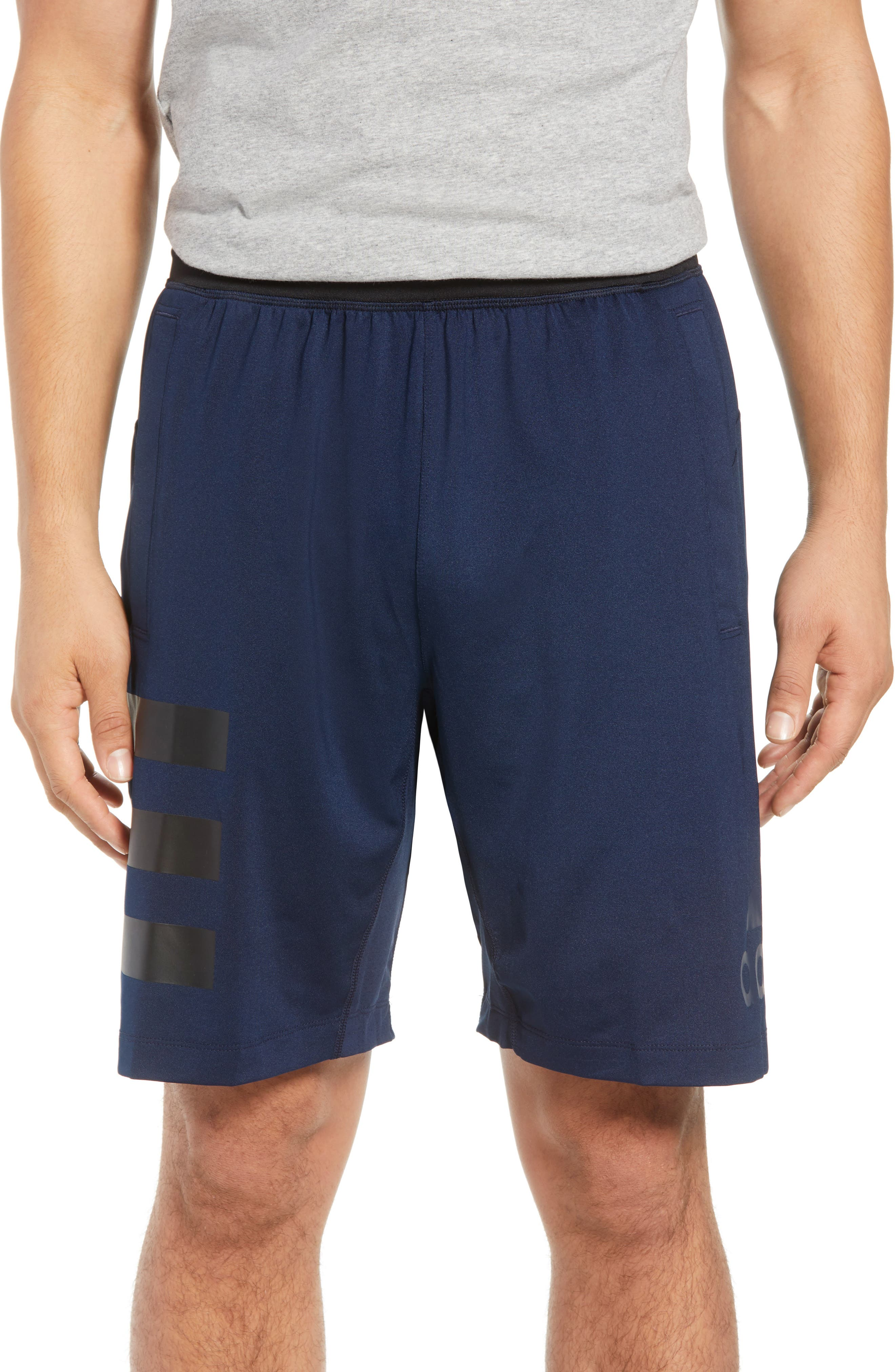 SB Hype Icon Shorts,                         Main,                         color, COLLEGIATE NAVY/ BLACK