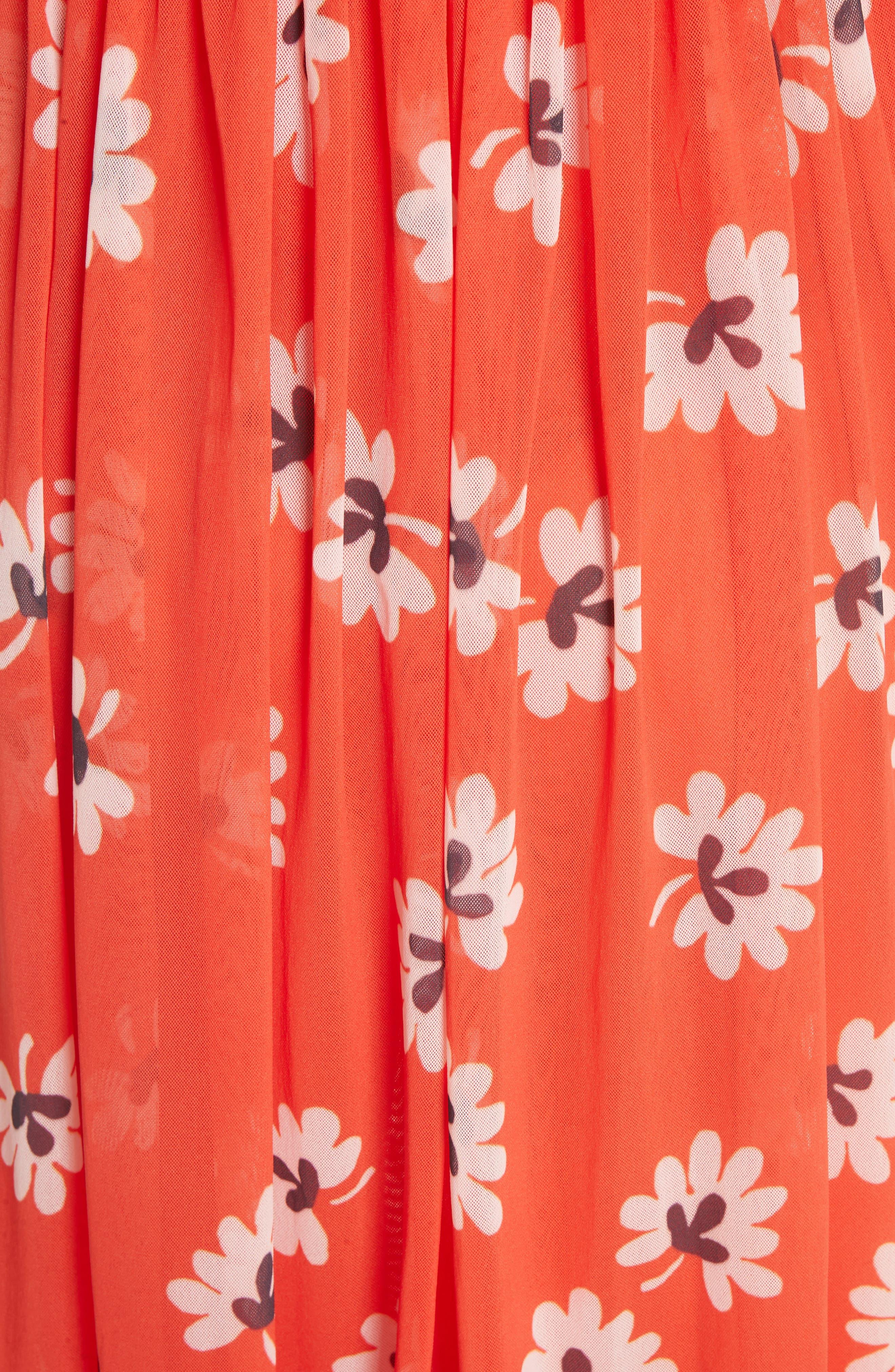 Tilden Mesh Dress,                             Alternate thumbnail 5, color,                             600