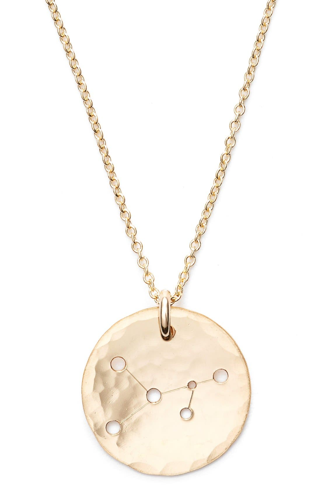 Ija 'Small Zodiac' 14k-Gold Fill Necklace,                             Alternate thumbnail 28, color,