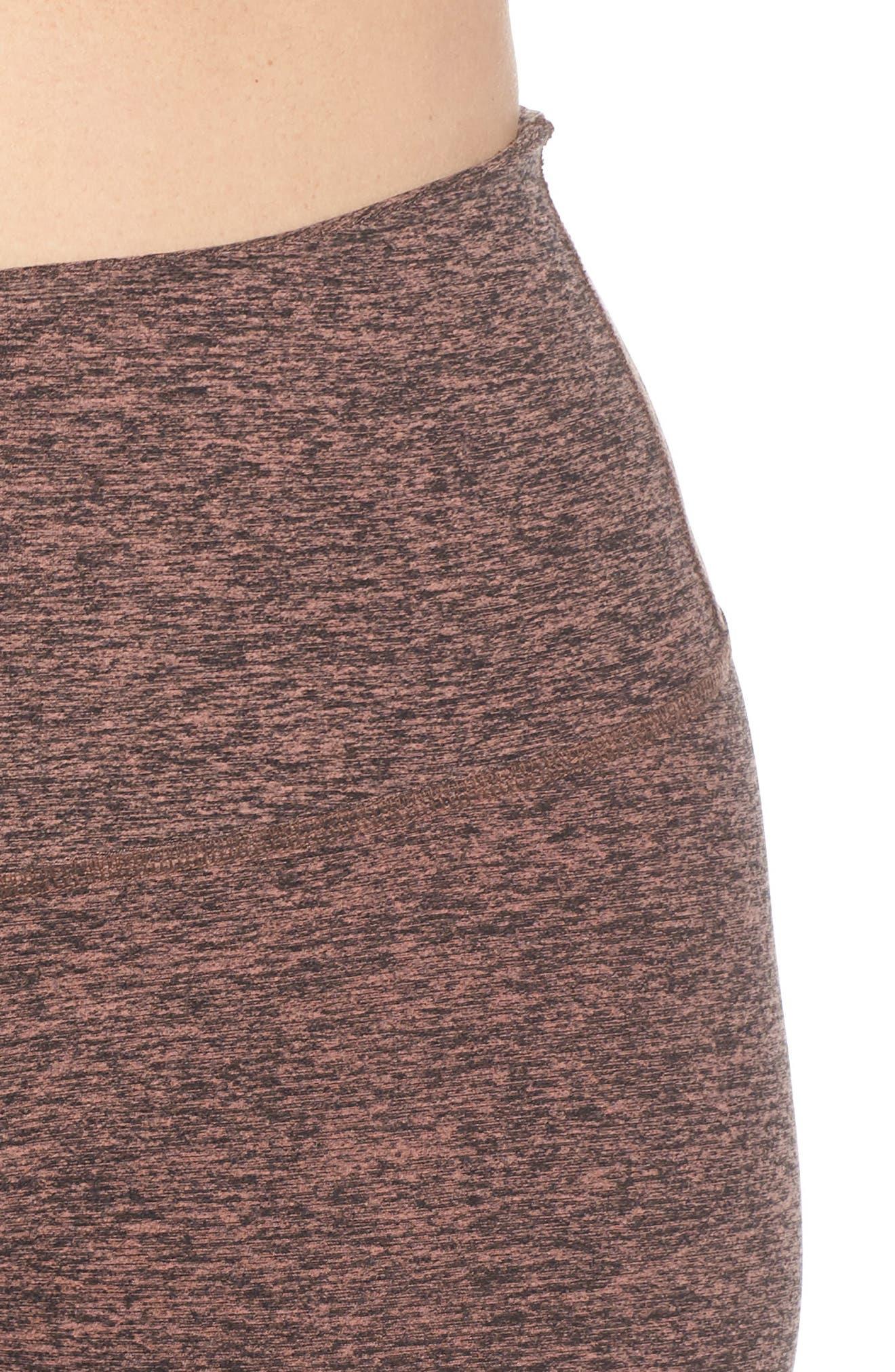 High Waist Midi Leggings,                             Alternate thumbnail 4, color,                             004