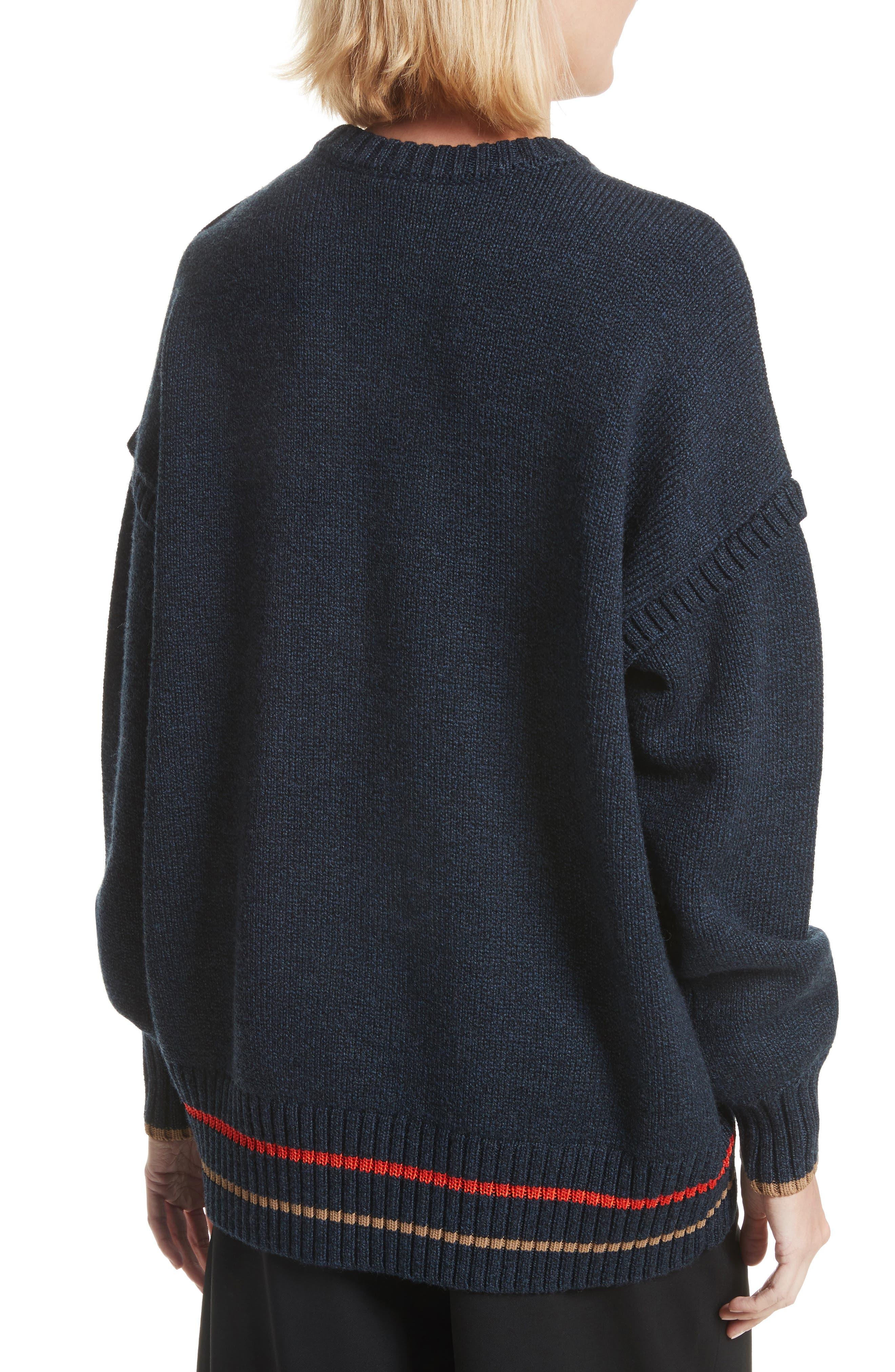 Oversize Sweatshirt,                             Alternate thumbnail 2, color,                             493