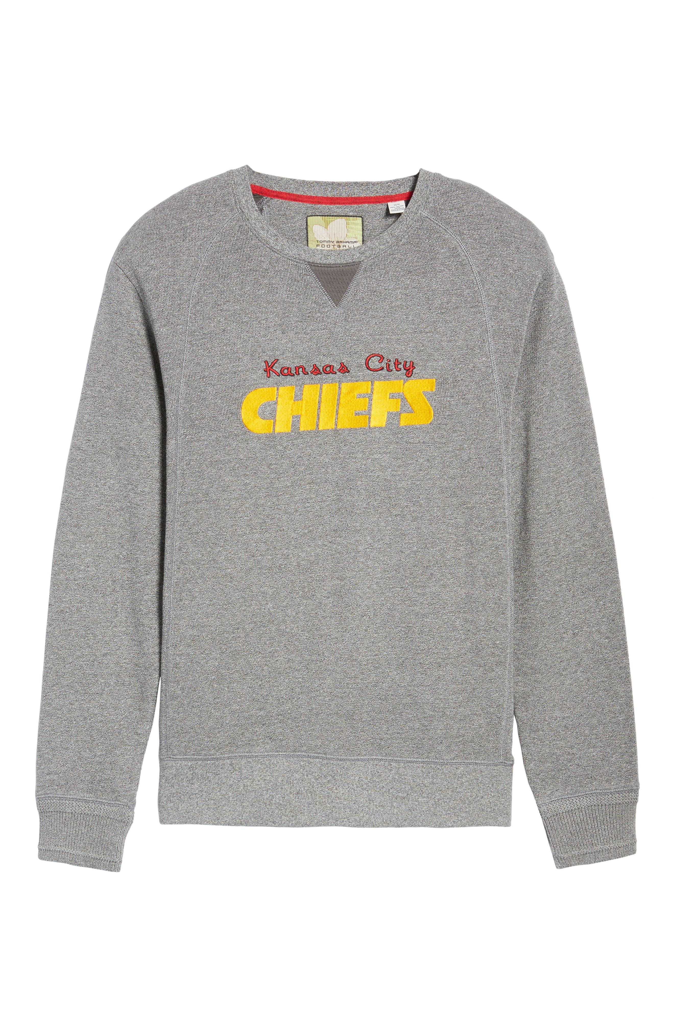 NFL Stitch of Liberty Embroidered Crewneck Sweatshirt,                             Alternate thumbnail 162, color,