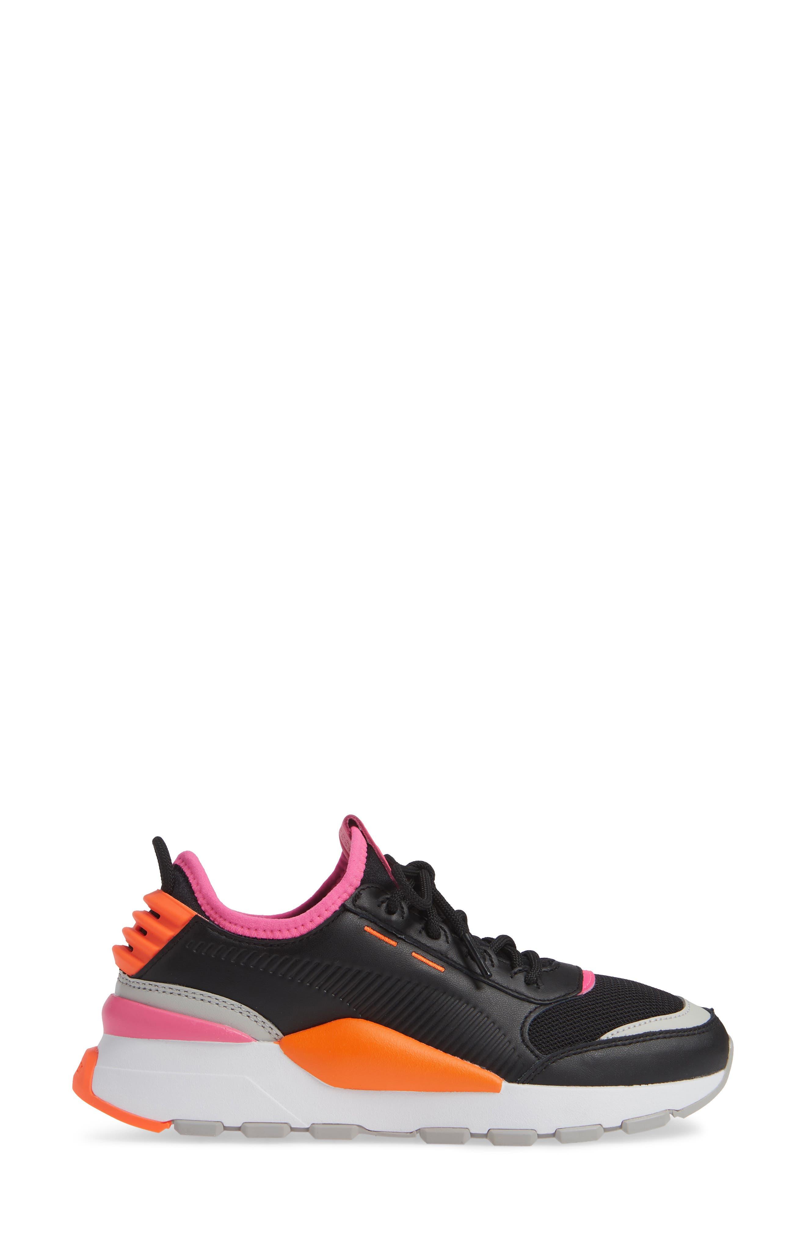RS-0 Sneaker,                             Alternate thumbnail 3, color,                             001