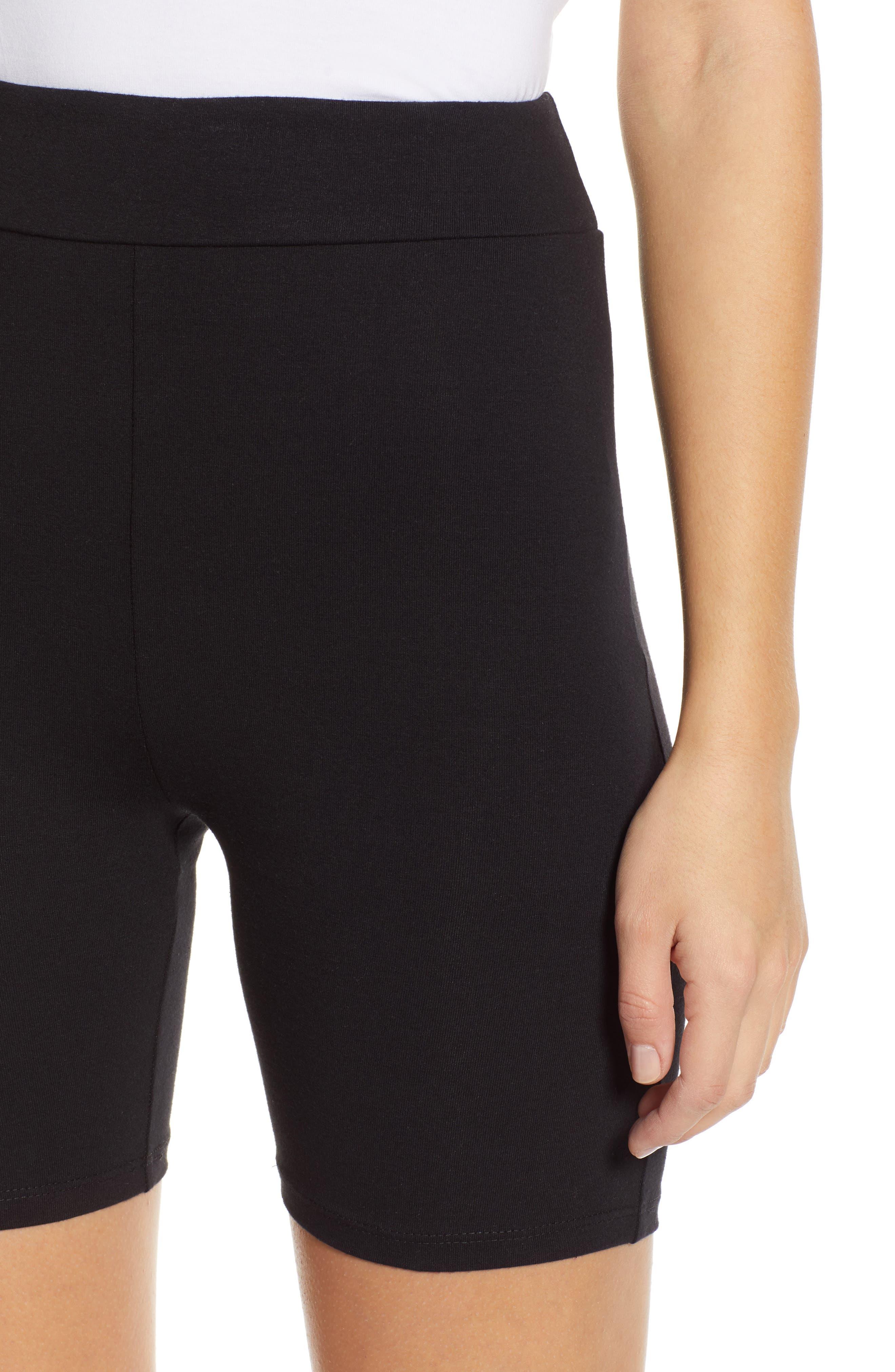 Bike Shorts,                             Alternate thumbnail 4, color,                             BLACK
