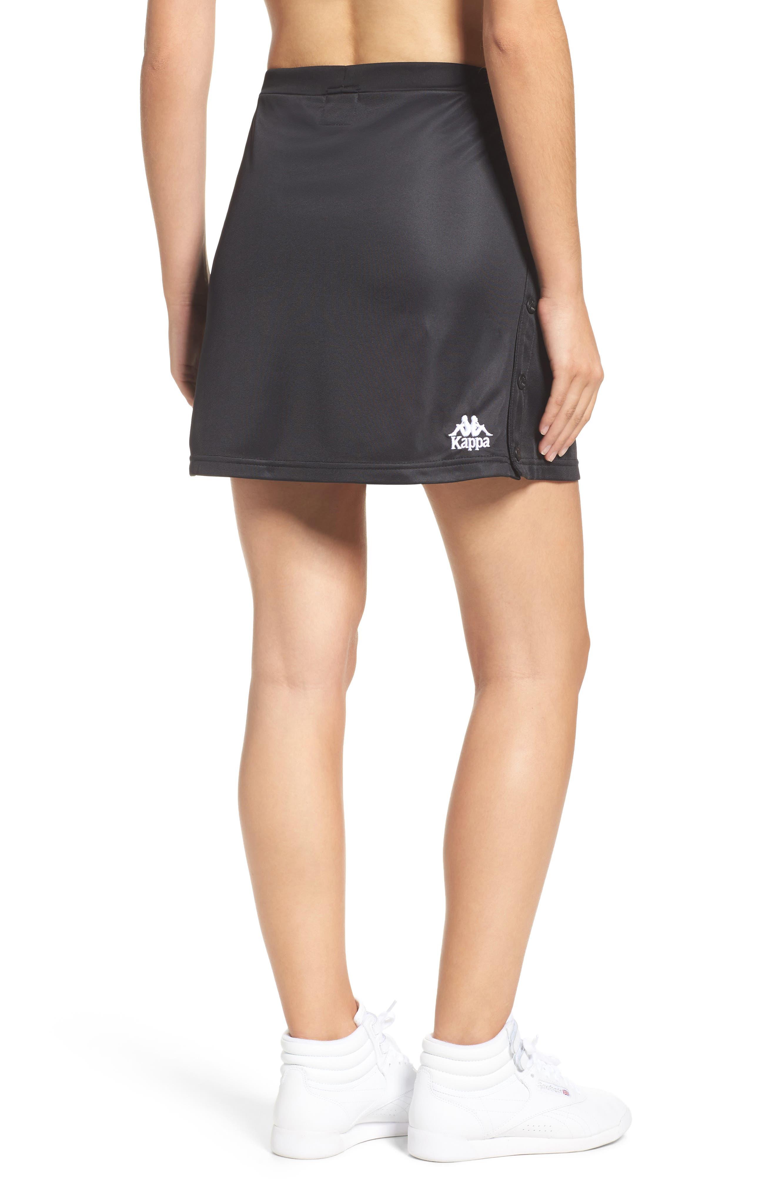 Authentic Piqué Skirt,                             Alternate thumbnail 2, color,                             001