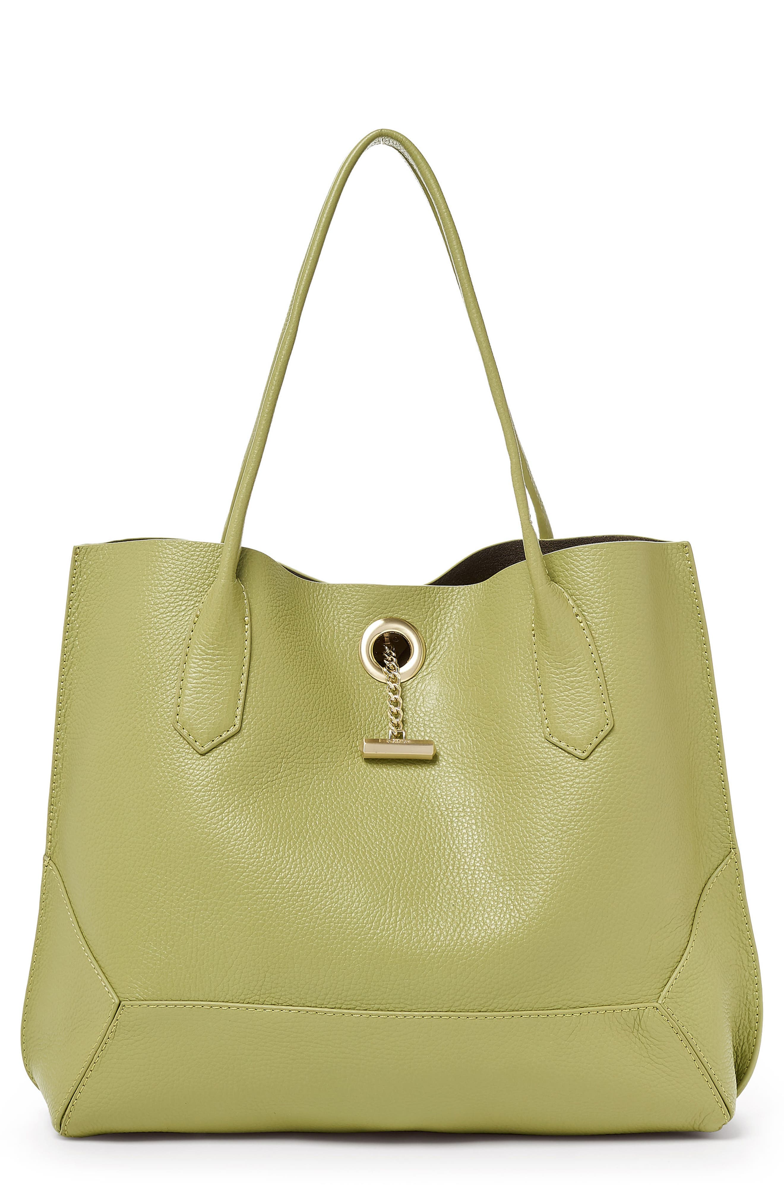 Waverly Leather Tote,                             Main thumbnail 5, color,