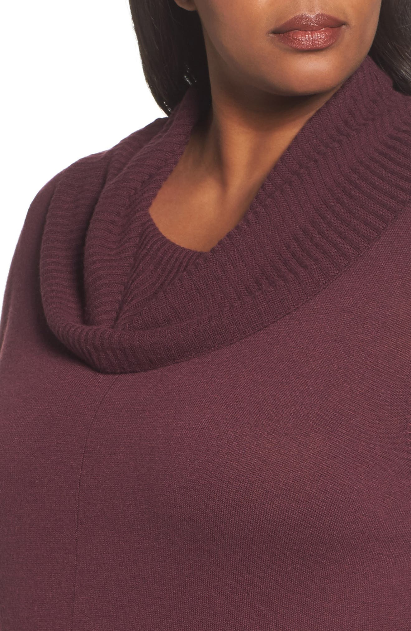 Cowl Neck Tunic,                             Alternate thumbnail 8, color,
