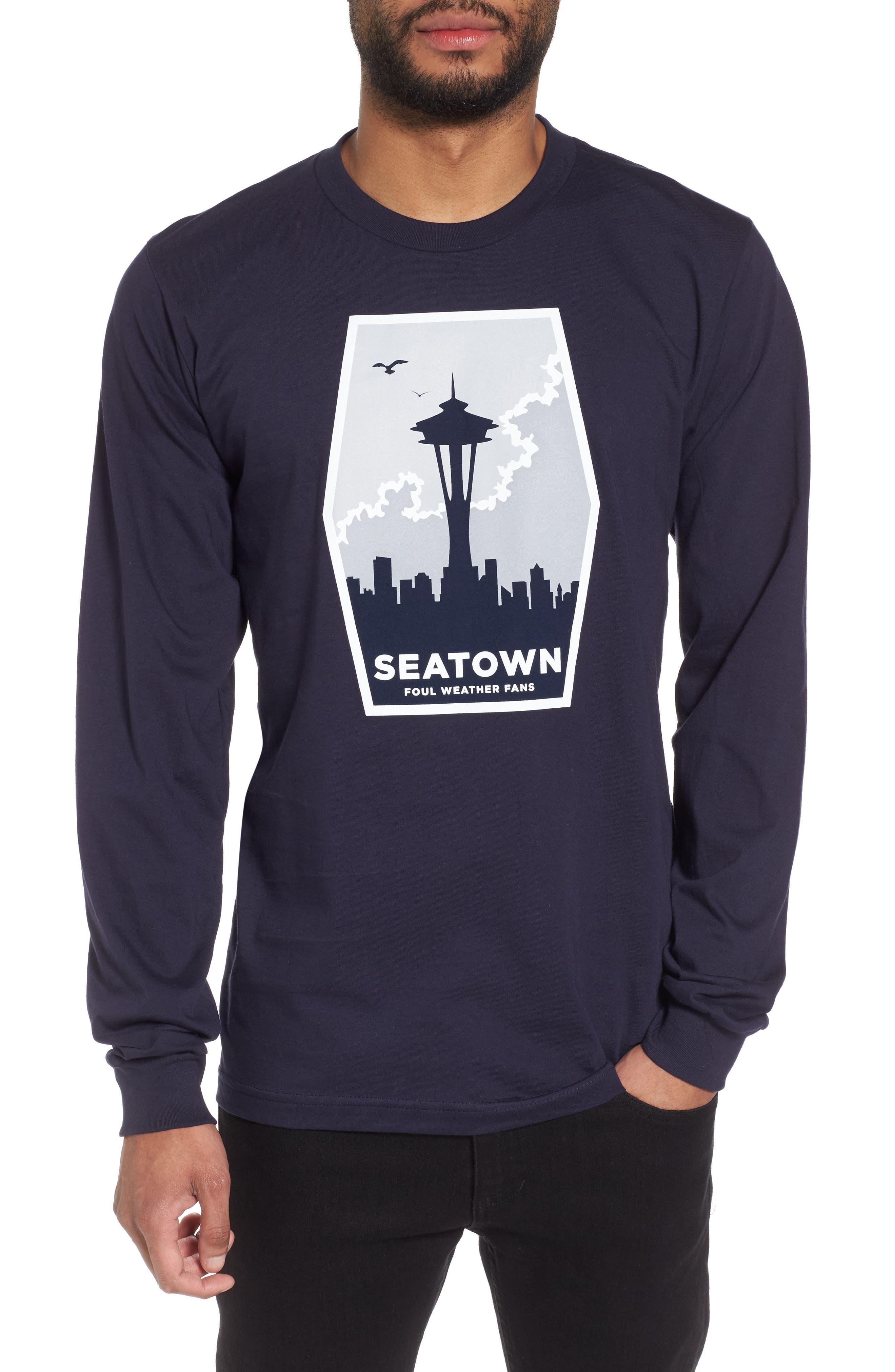 Foul Weather Fans T-Shirt,                             Main thumbnail 1, color,                             400